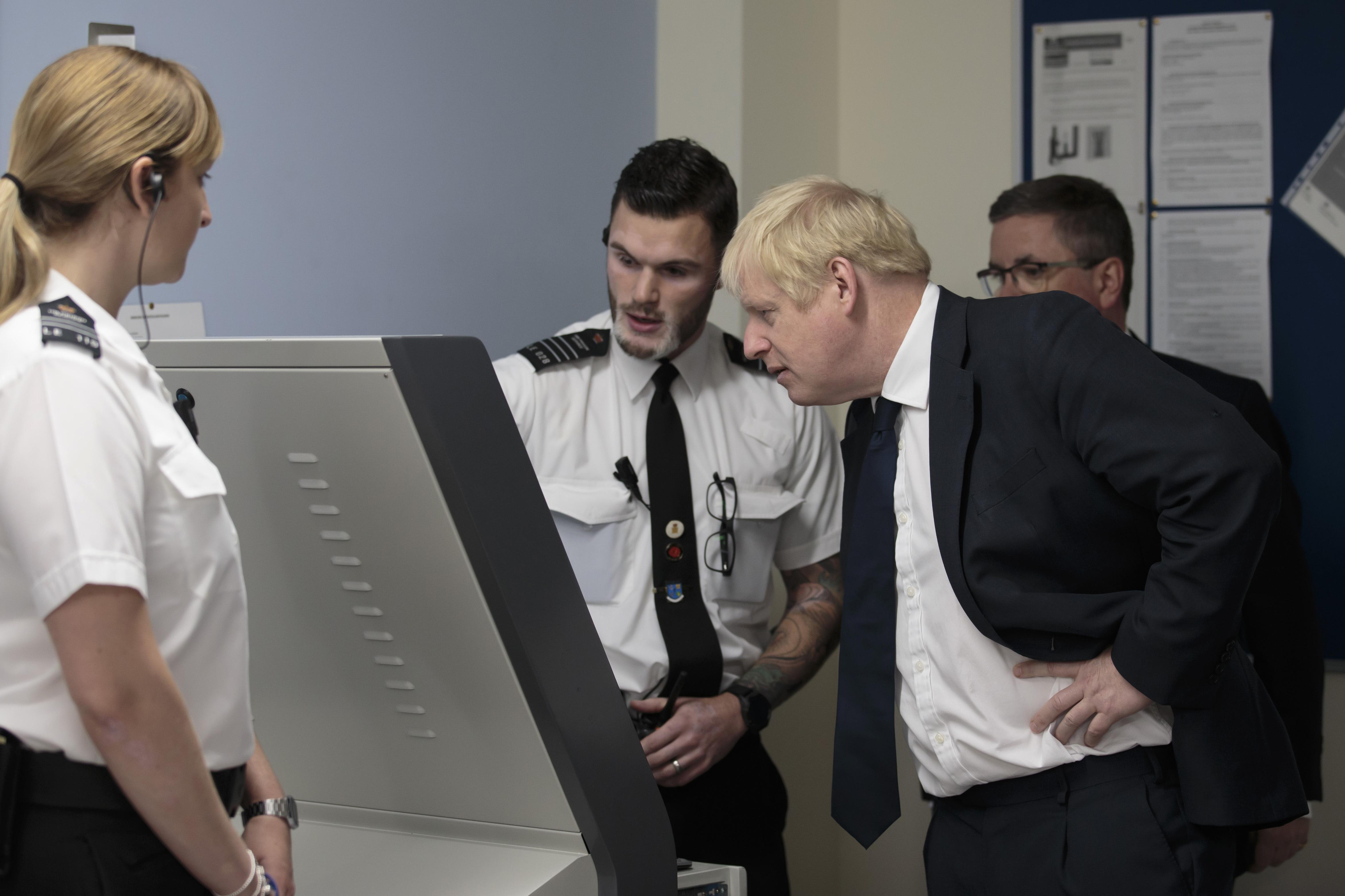 Kinder egg surprise as Boris Johnson Visits leeds Prison
