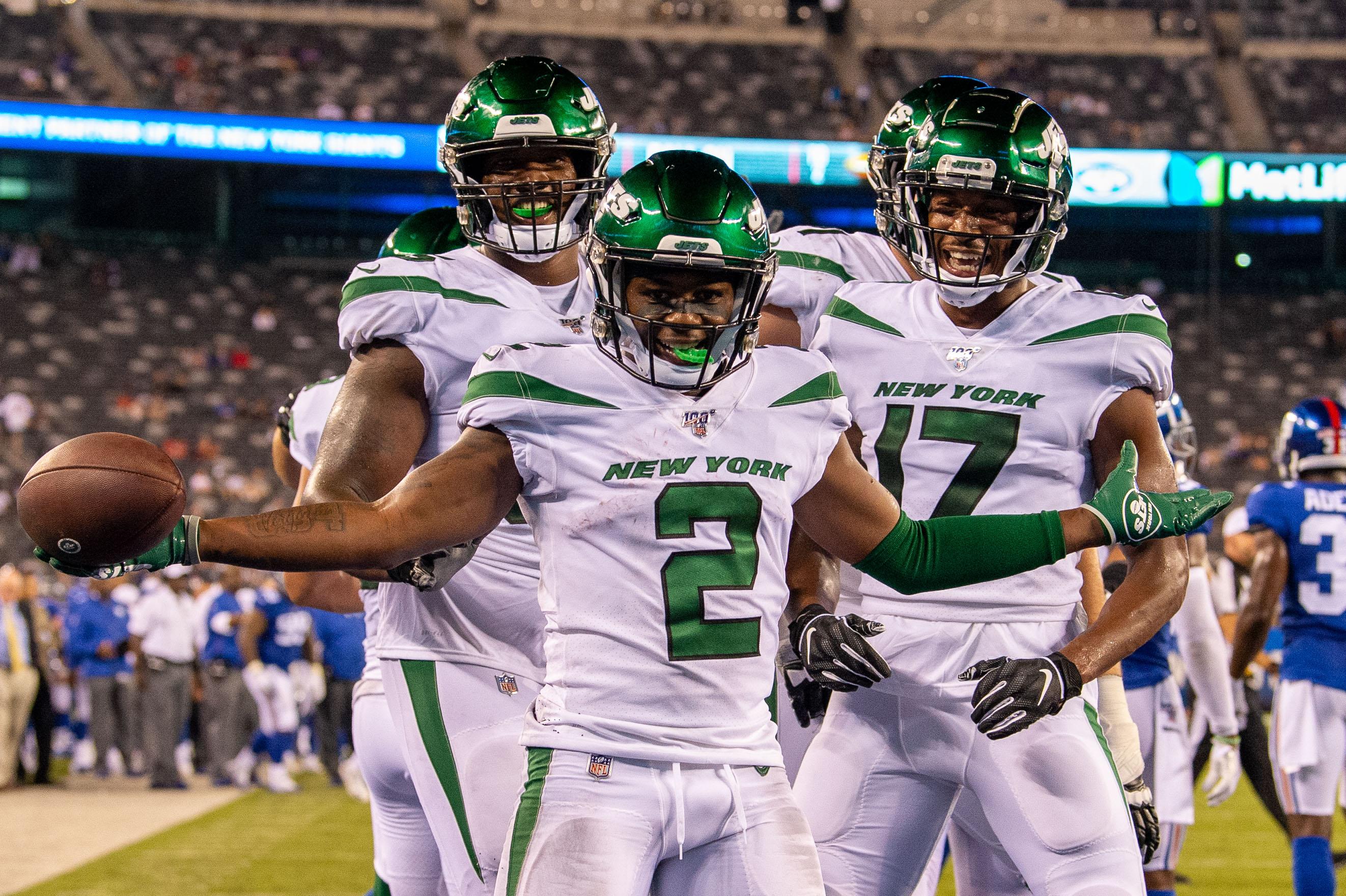 NFL: Preseason-New York Jets at New York Giants