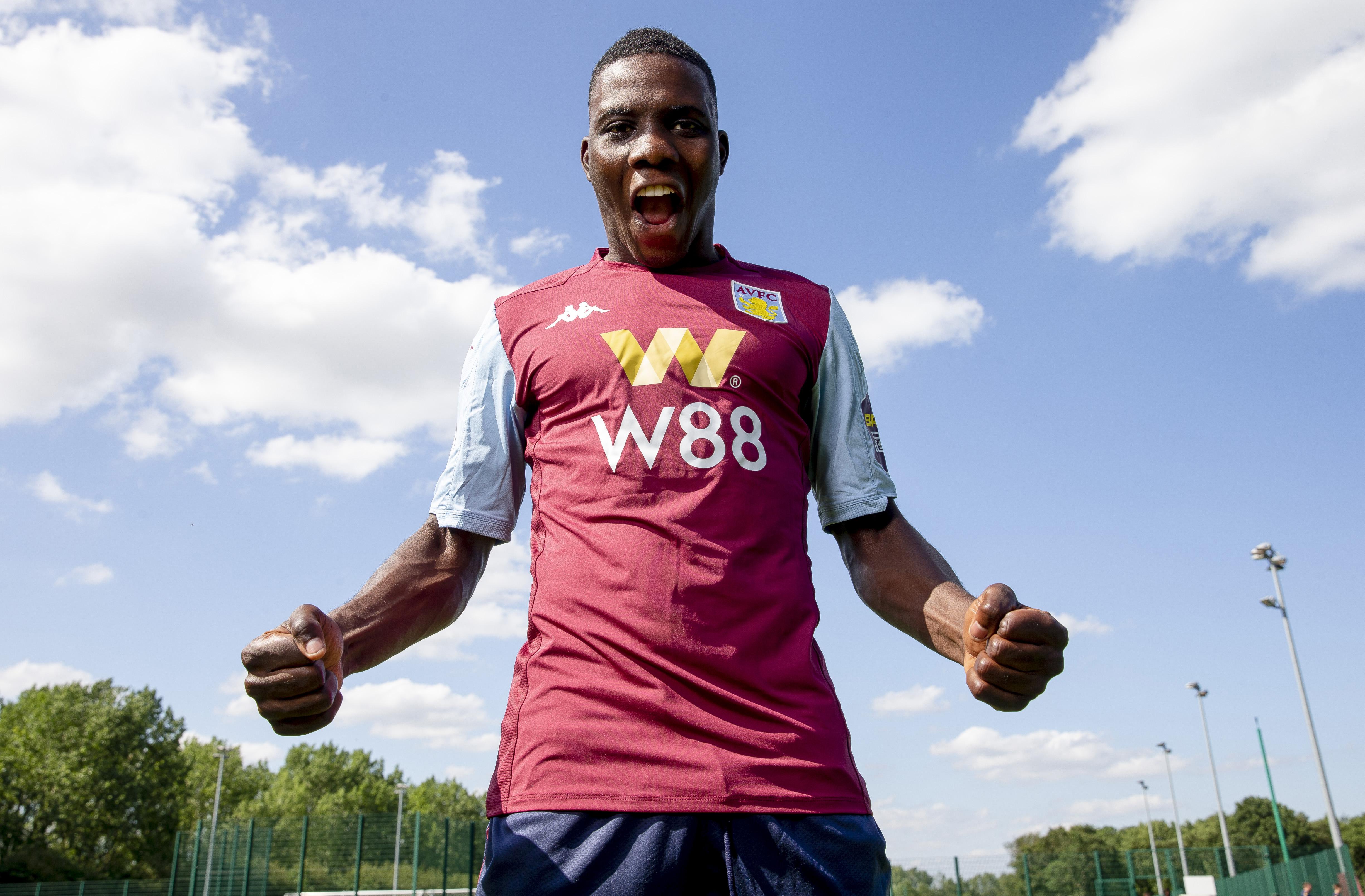 Aston Villa Unveil New Signing Marvelous Nakamba