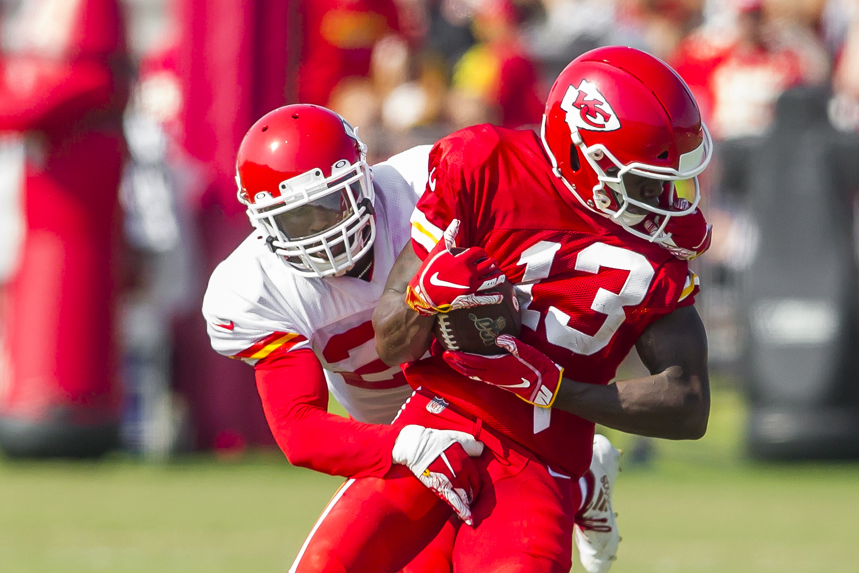 NFL: AUG 04 Chiefs Training Camp