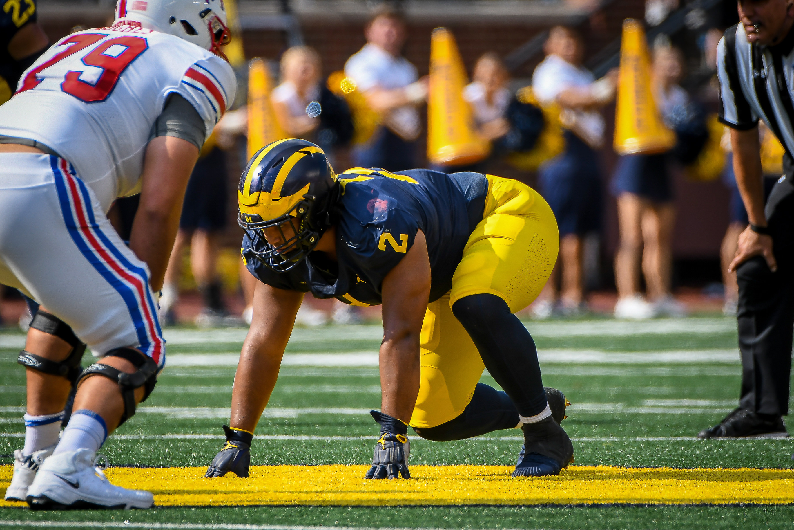 COLLEGE FOOTBALL: SEP 15 SMU at Michigan