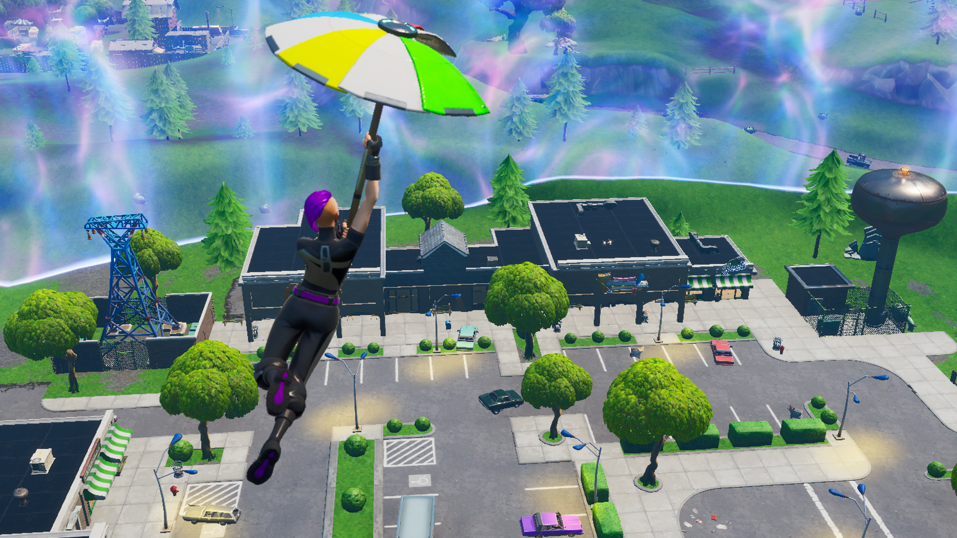Fortnite patch 10 10 brings back Retail Row, reduces mech