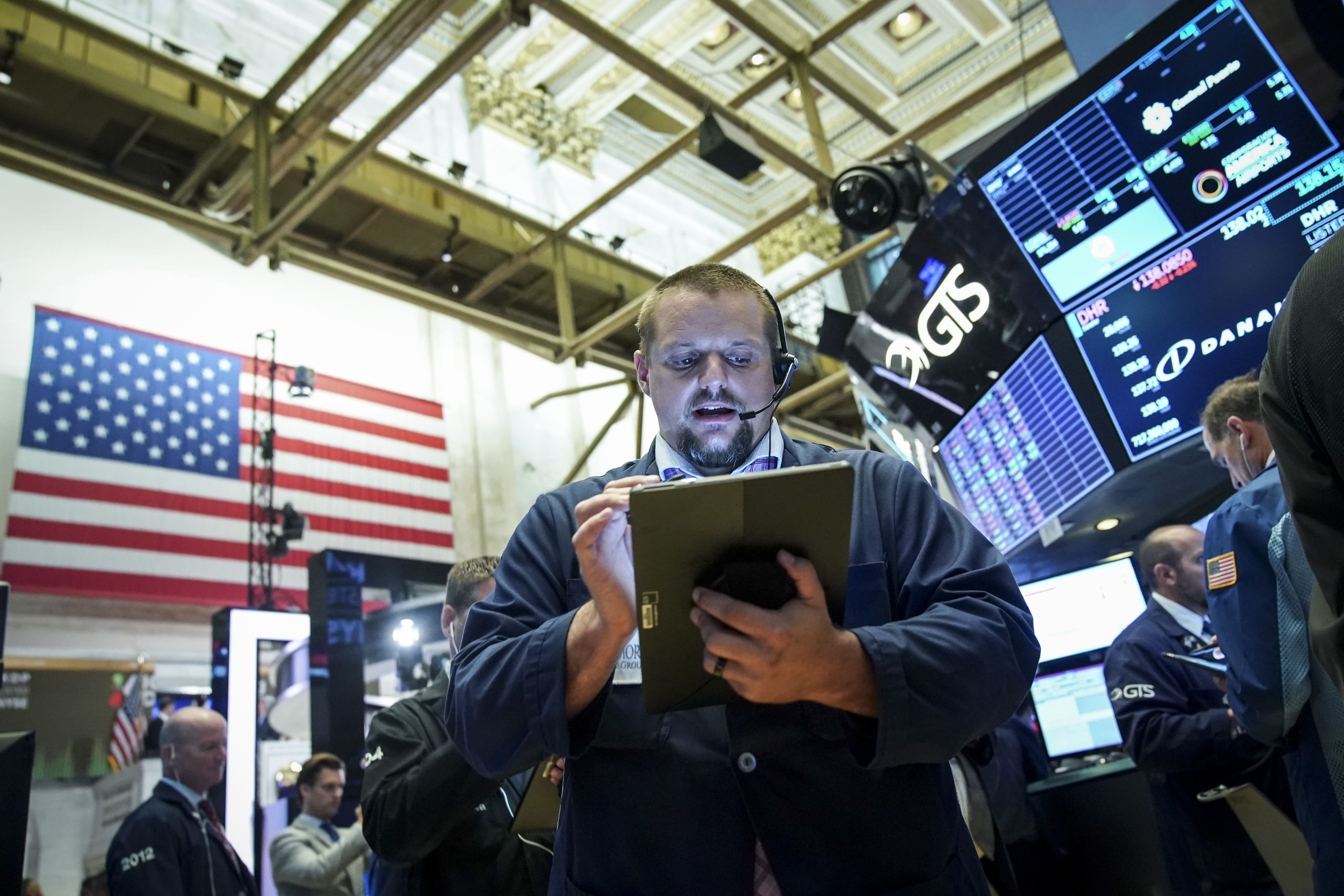 Markets Open After Dropping Nearly 400 Points Monday