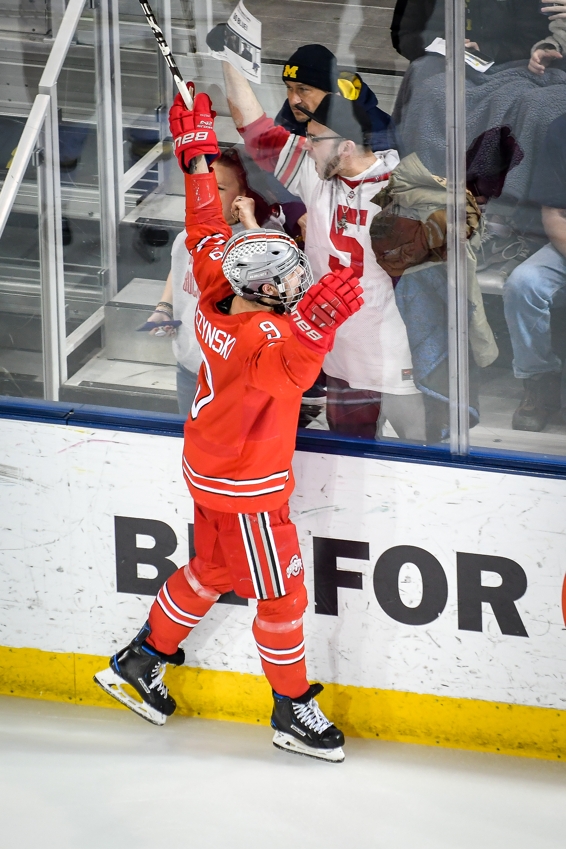 COLLEGE HOCKEY: FEB 22 Ohio State at Michigan