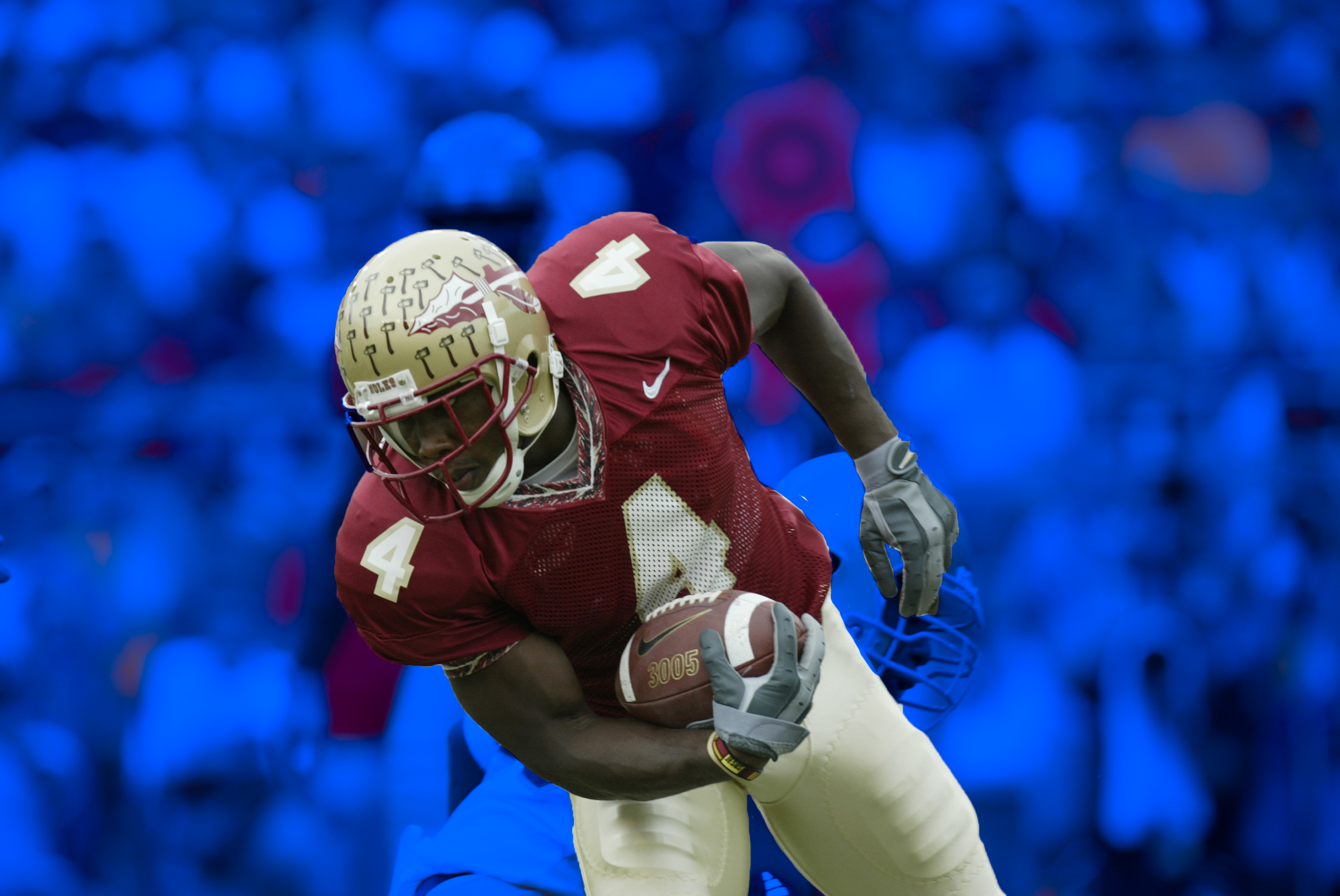 Anquan Boldin at Florida State.