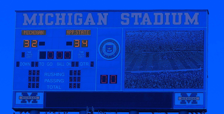 Appalachian State beats Michigan.