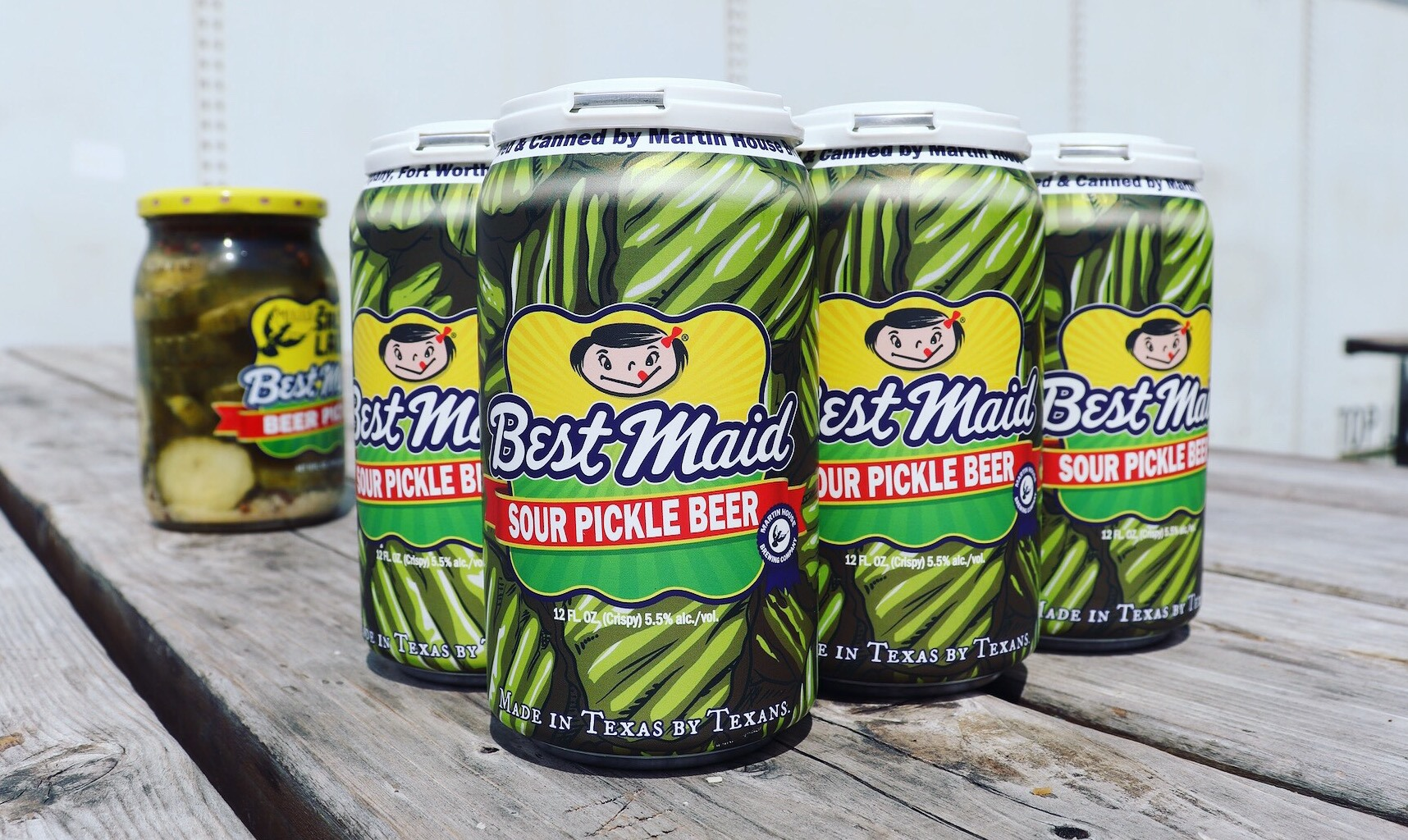 Beer Spiked With Pickle Juice Debuts in Fort Worth This Weekend