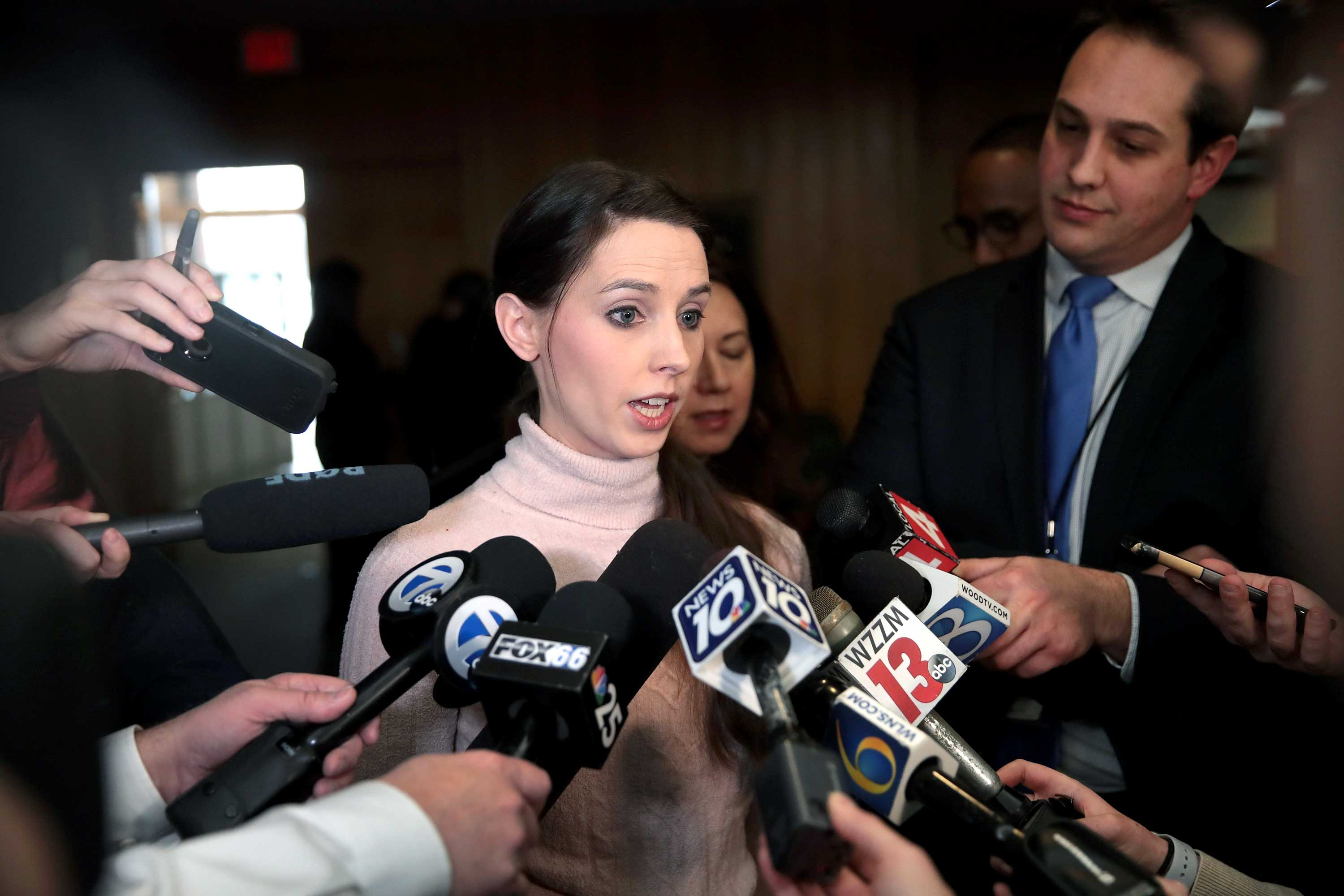 I faced Larry Nassar in court. Epstein's accusers should have had the same chance.