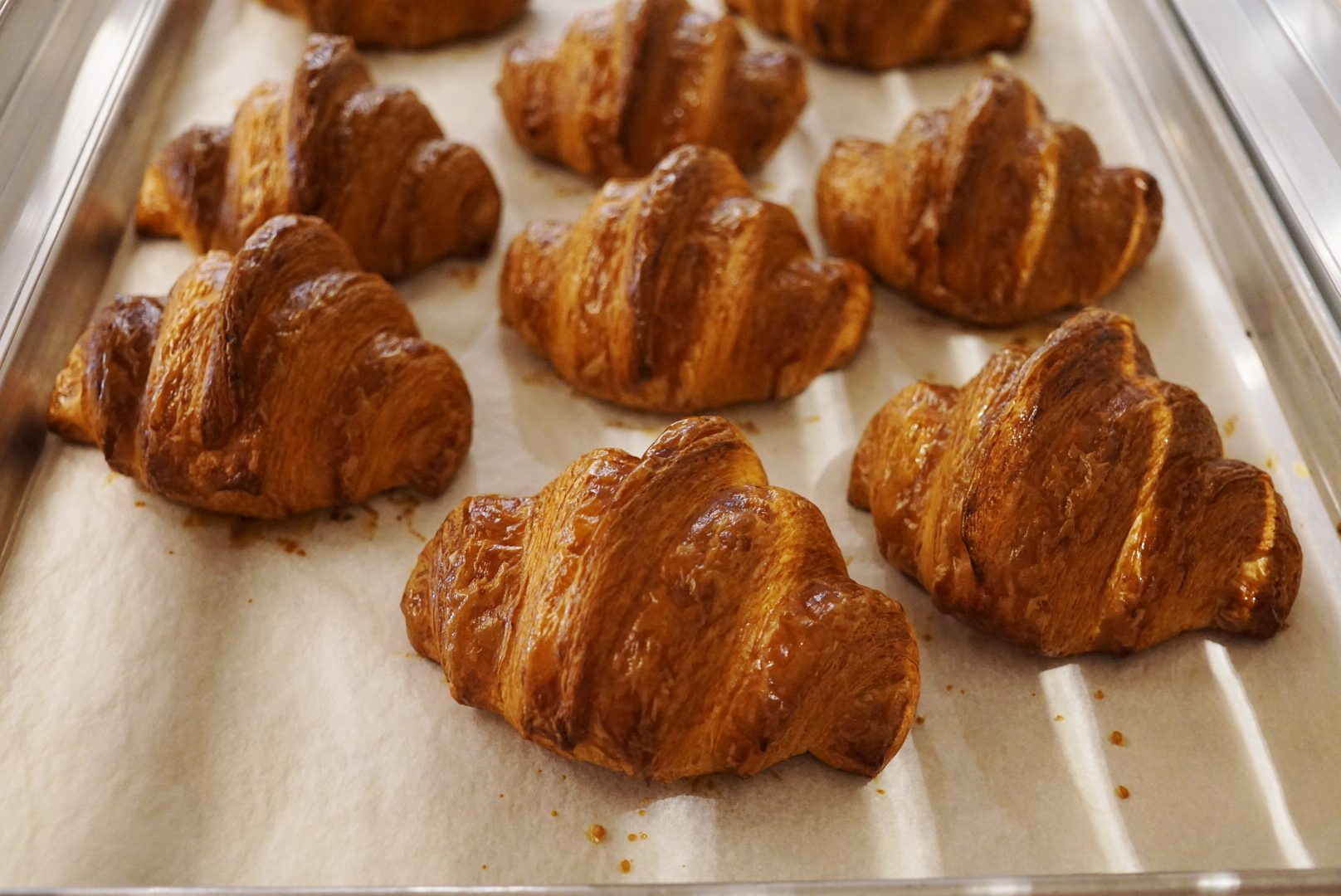 A Glorious Golden Brown Croissant Comes to Life in Downtown LA's Bon Temps