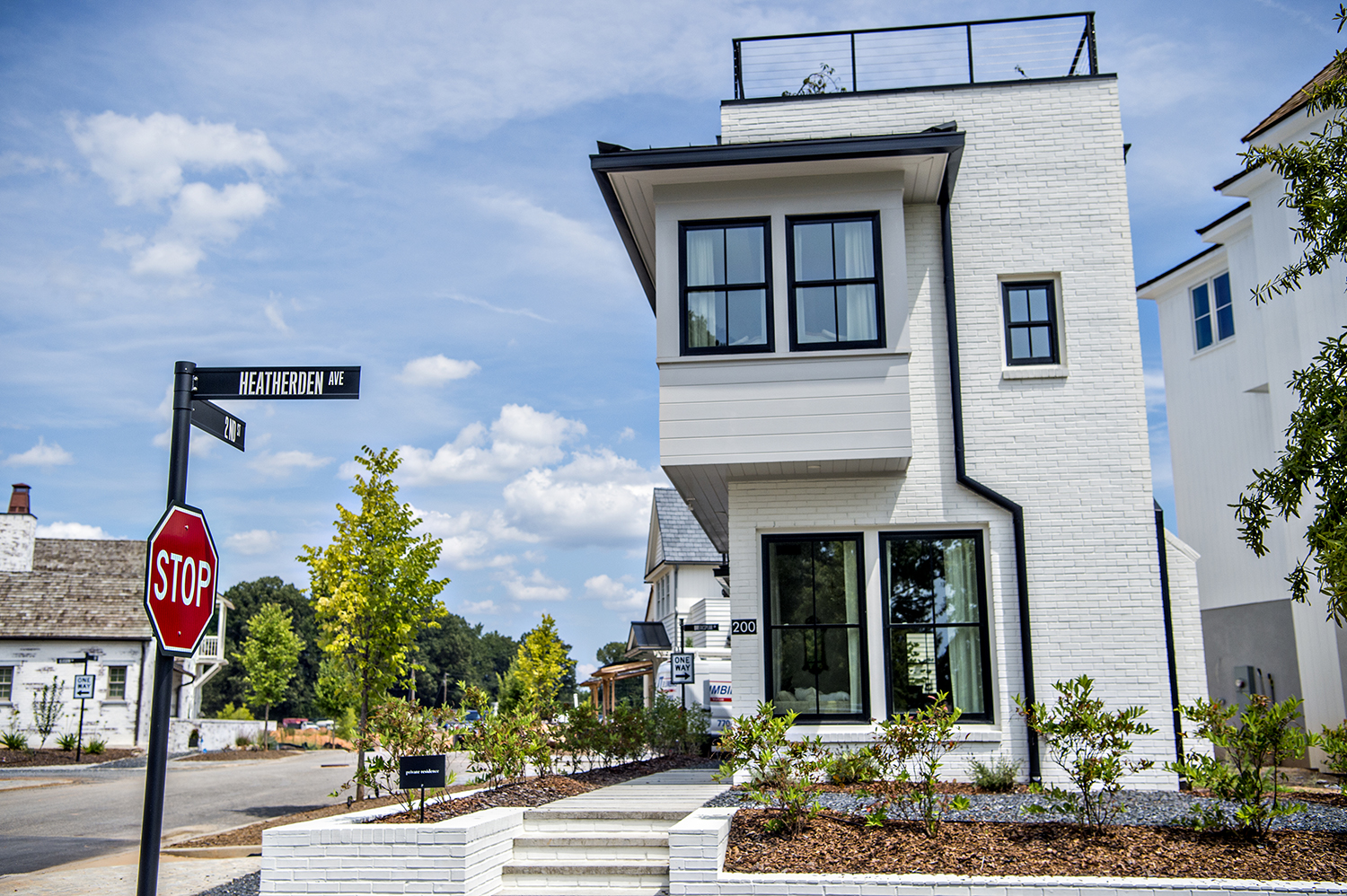 Photos: How a new town tied to Georgia's TV and film industry is rising south of Atlanta
