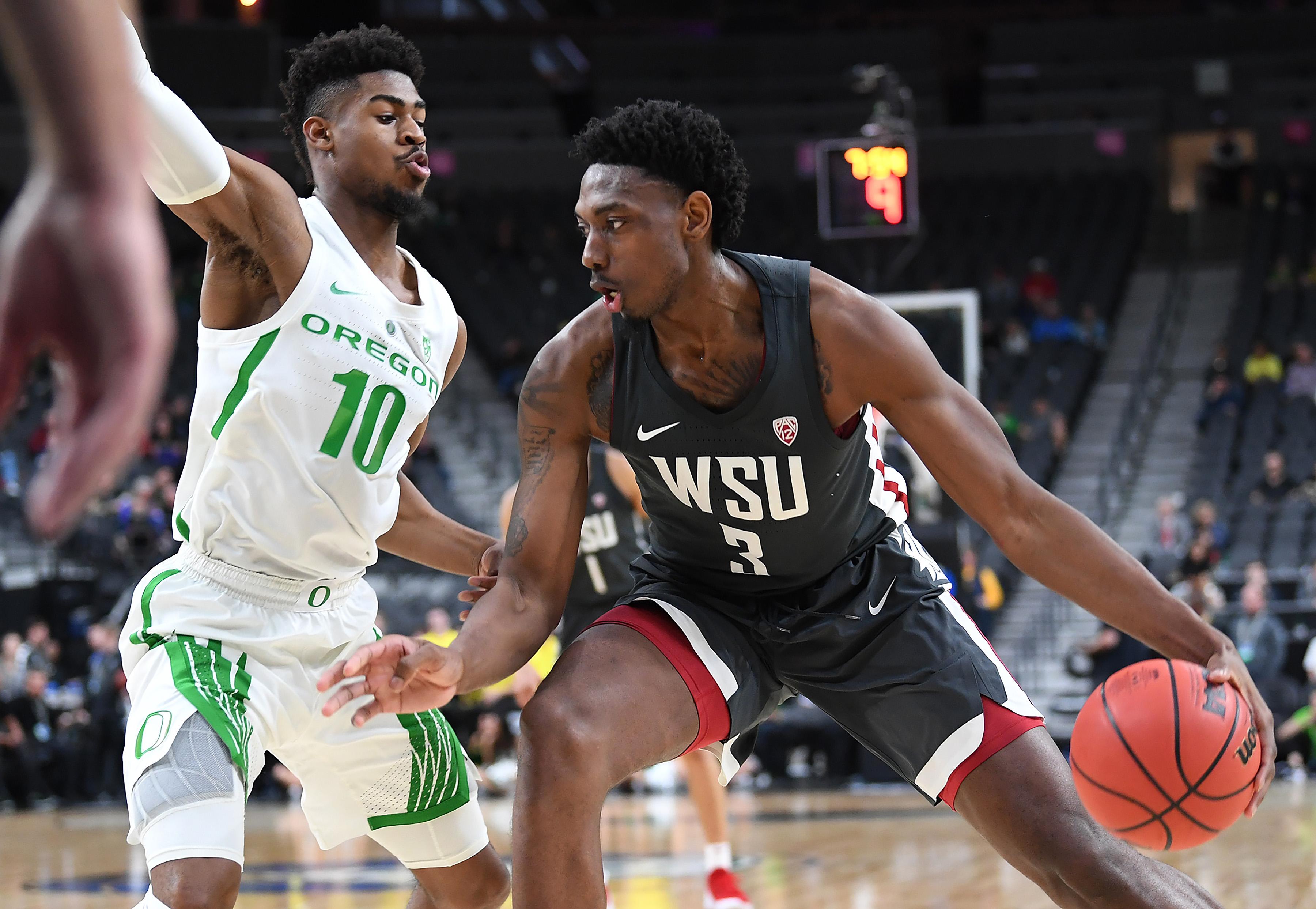 NCAA Basketball: Pac-12 Conference Tournament-Oregon vs Washington State