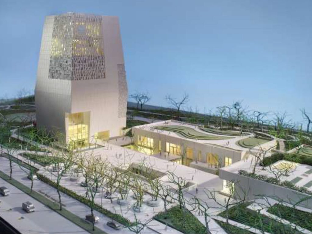 Obama Presidential Center rendering. | Obama Foundation