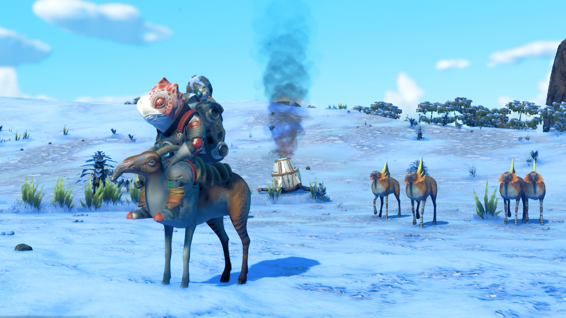 Ride animals in No Man's Sky Beyond guide - Polygon