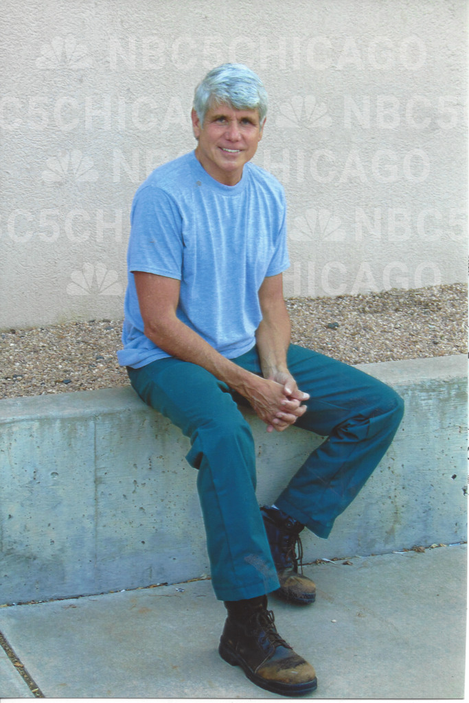 Rod Blagojevich, Inmate No. 40892-424 at the Federal Correctional Institution in Englewood, Colorado.