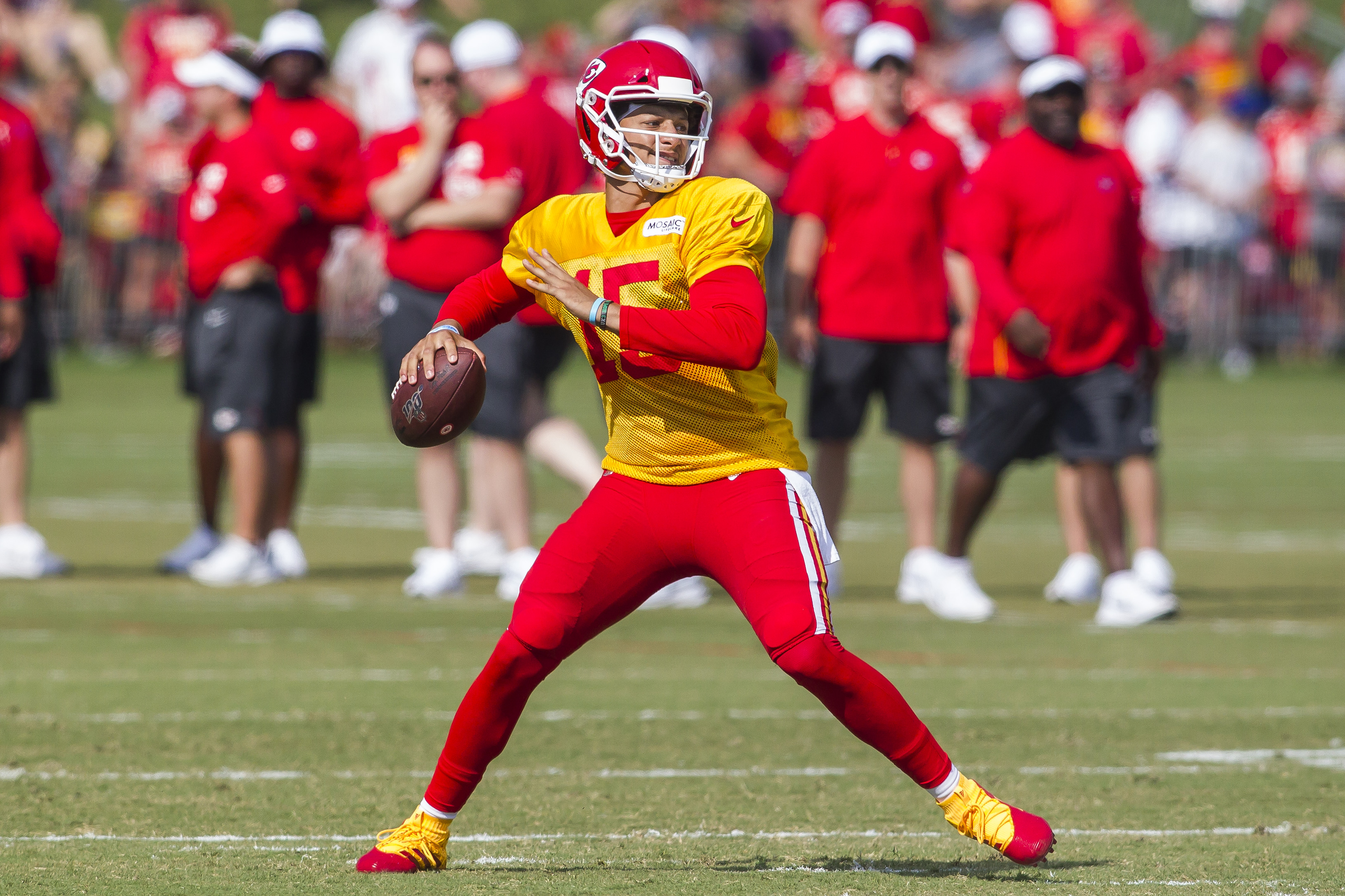 NFL: AUG 03 Chiefs Training Camp