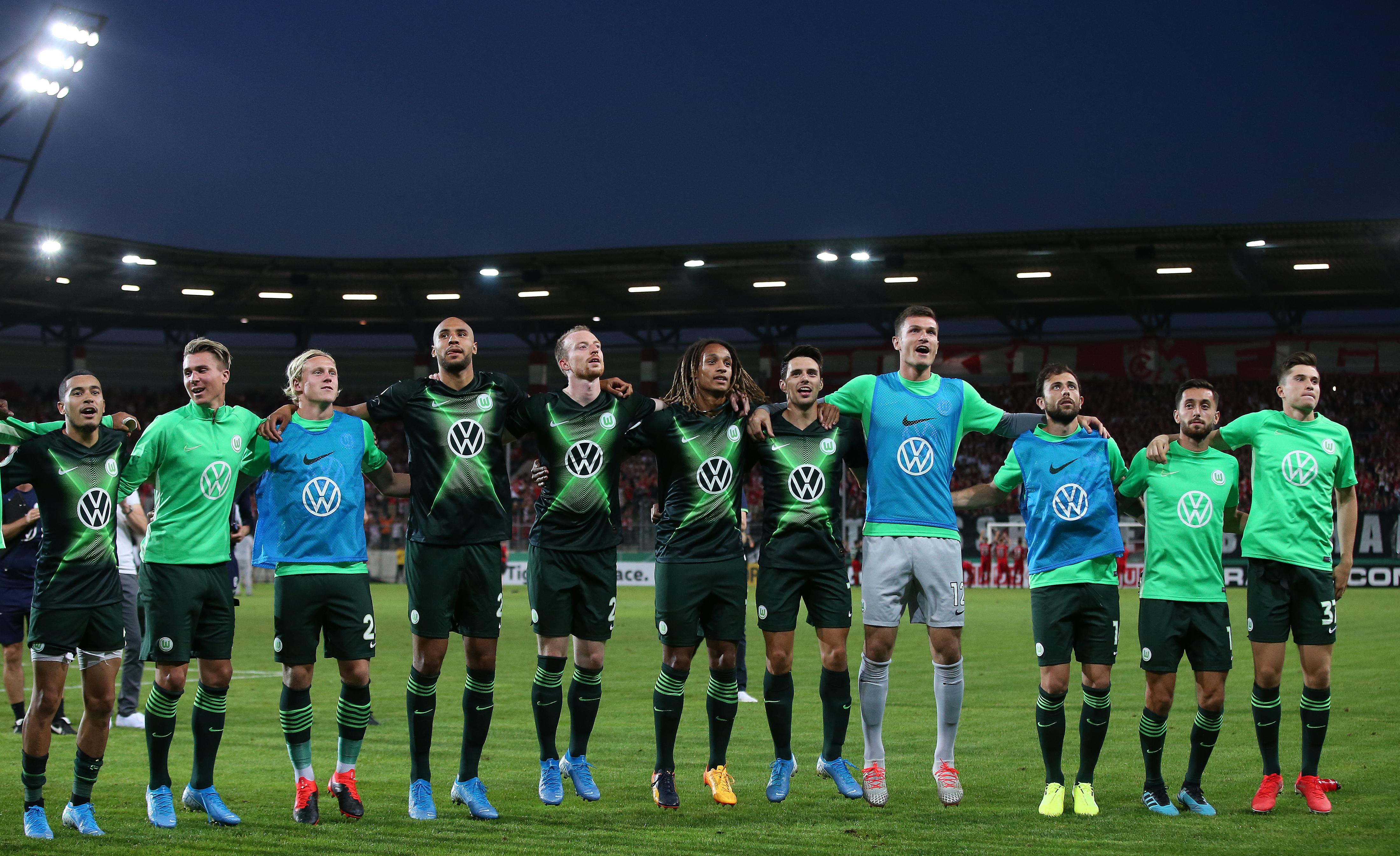 Hallescher FC v VfL Wolfsburg - DFB Cup