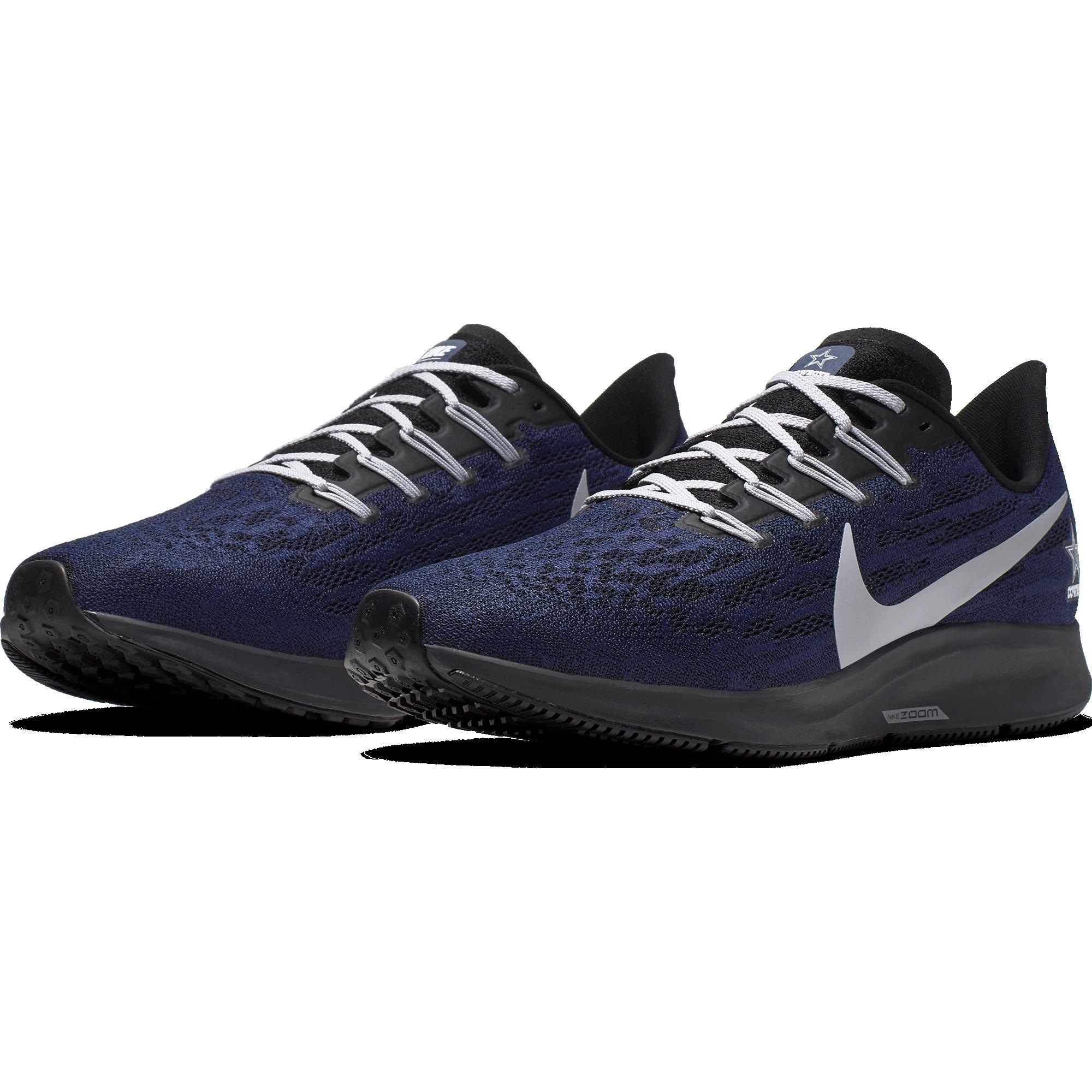 faf90698 Nike drops the new Air Zoom Pegasus 36 Dallas Cowboys shoe ...