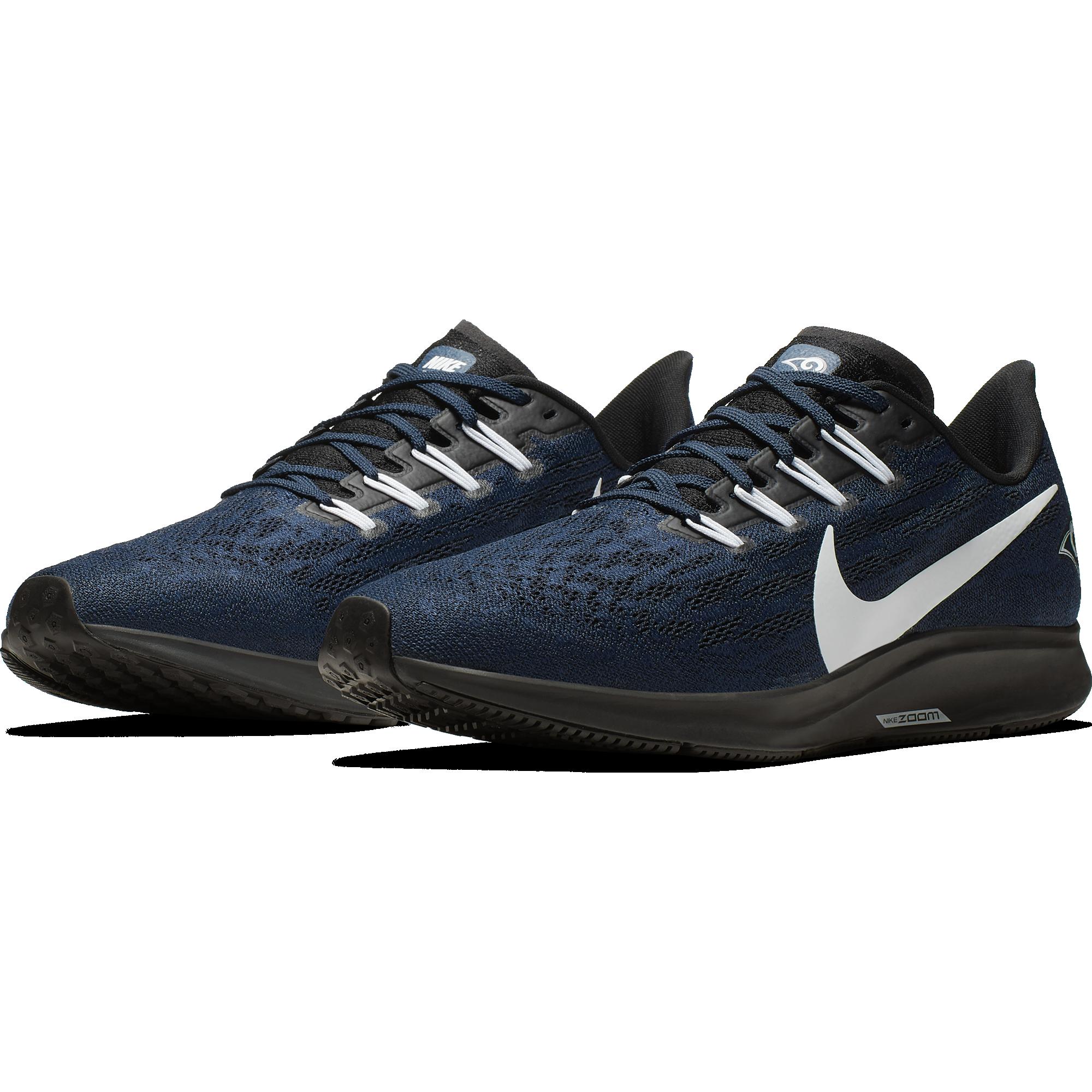 15fa0b8d Nike drops the new Air Zoom Pegasus 36 Rams shoe! - Turf Show Times