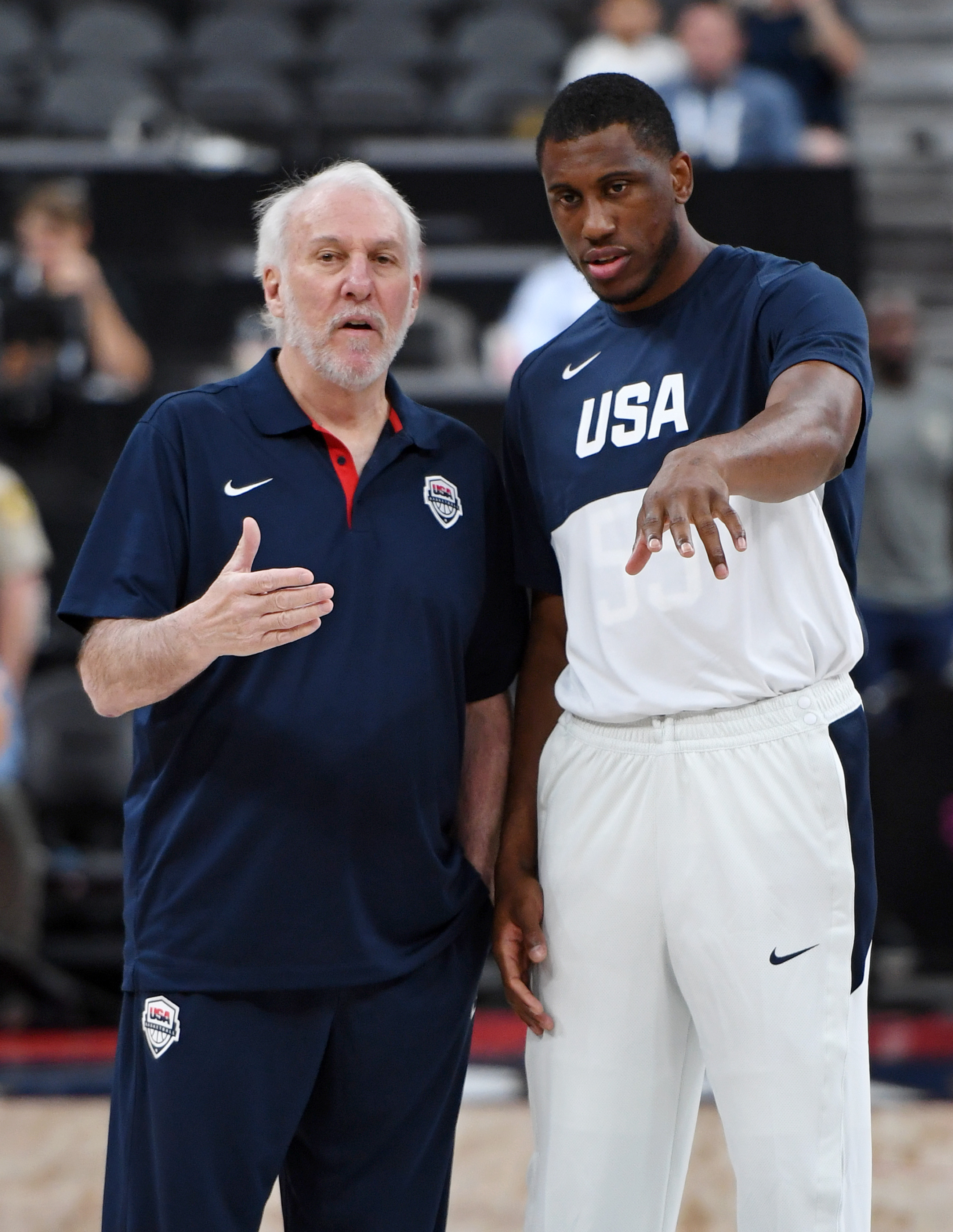 USA Basketball Men's National Team - USA White v USA Blue