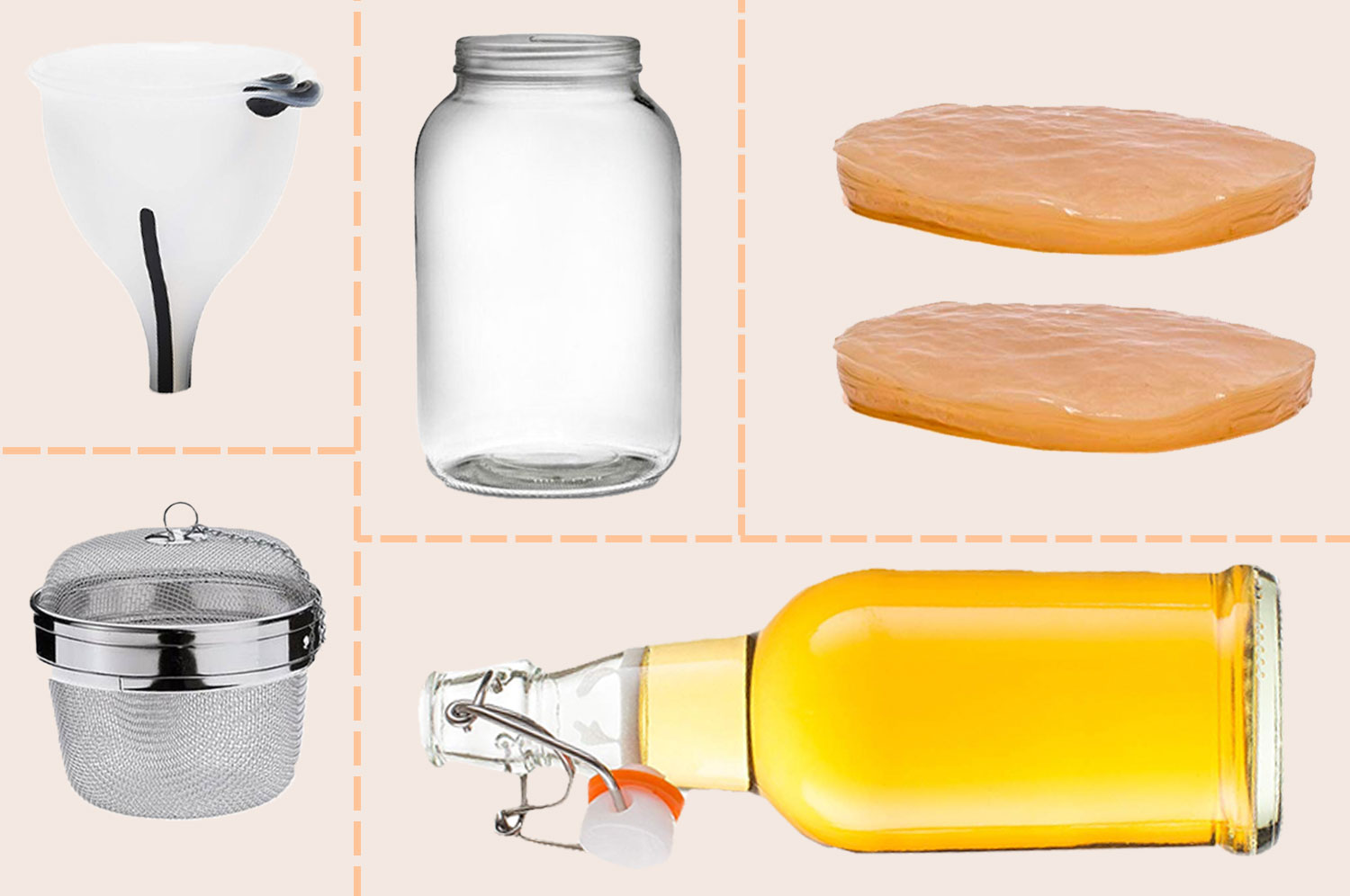 How to Get Started Brewing Your Own Kombucha