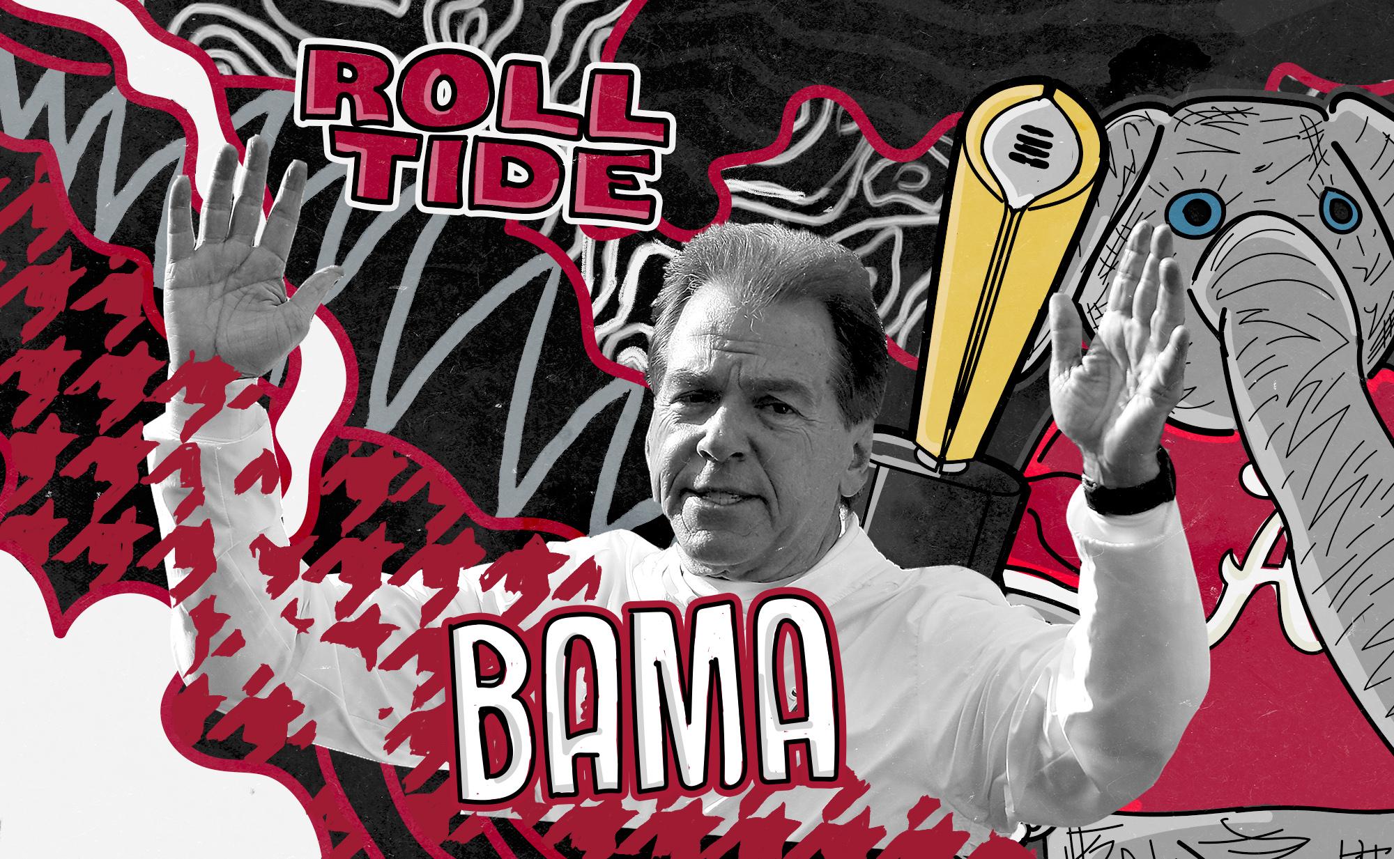 Alabama football montage
