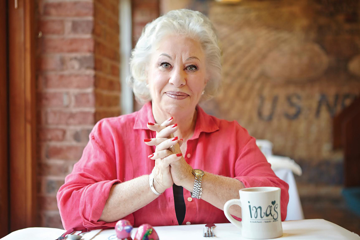 """Ina Pinkney, affectionately known as the """"Breakfast Queen,"""" warmed many Chicagoans' stomachs with breakfast over a 33 year-long career as the owner of Ina's in the West Loop. She will receive the 2020 Jean Banchet Culinary Achievement Award."""