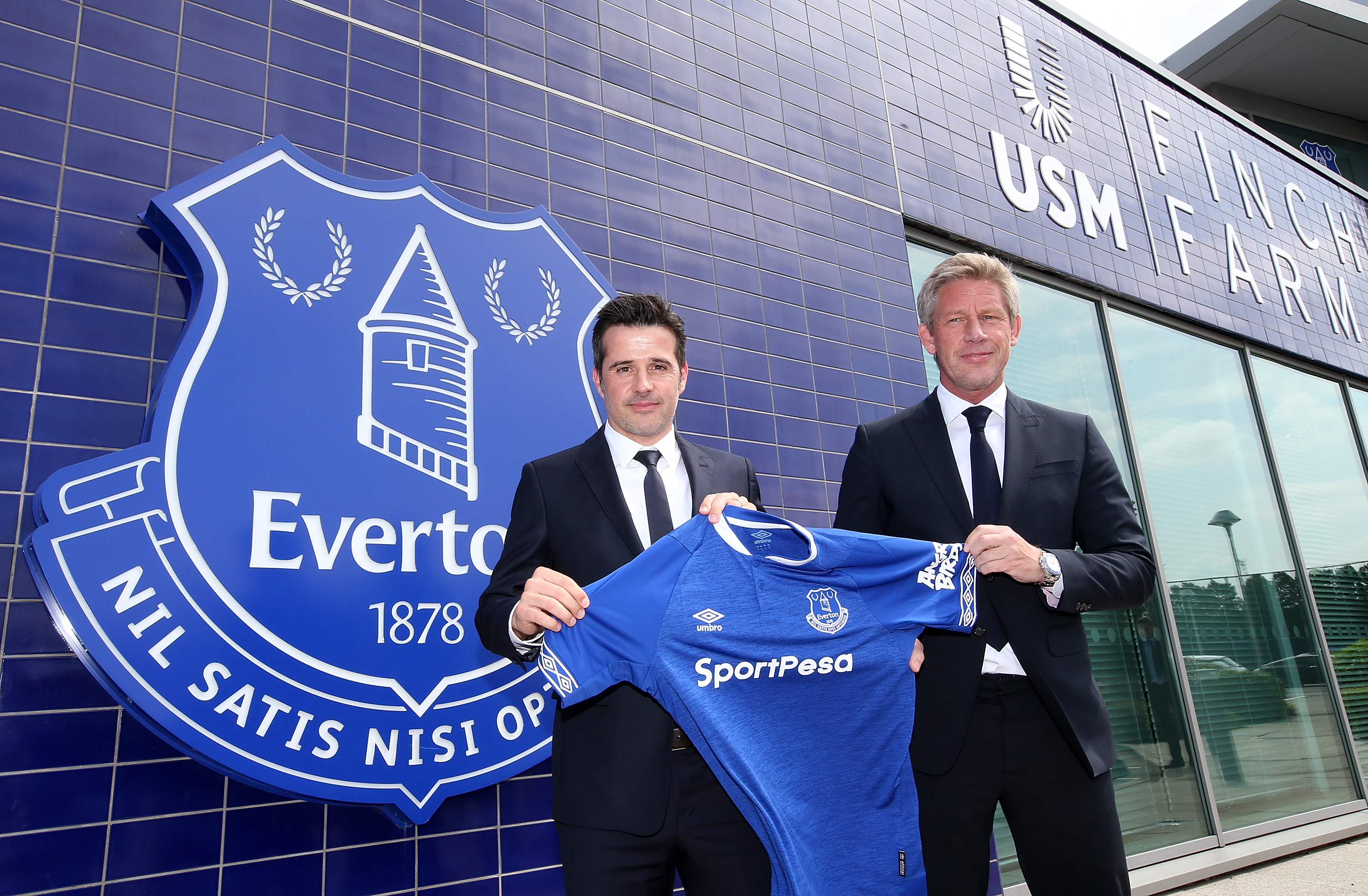 Everton Marco Silva and Marcel Brands Press Conference