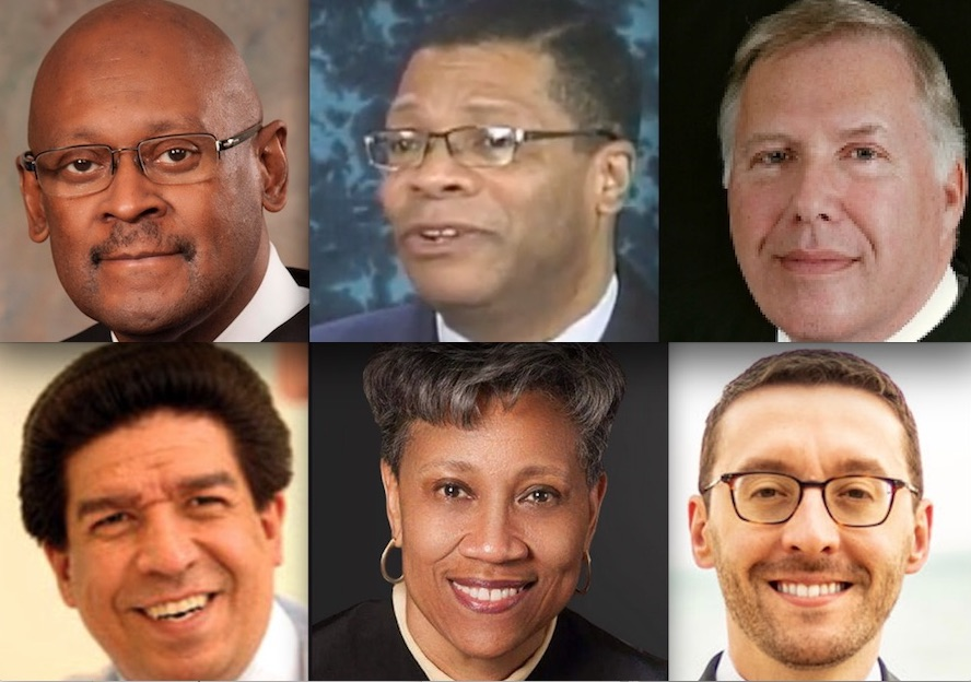 Democrats running for the state's top court: