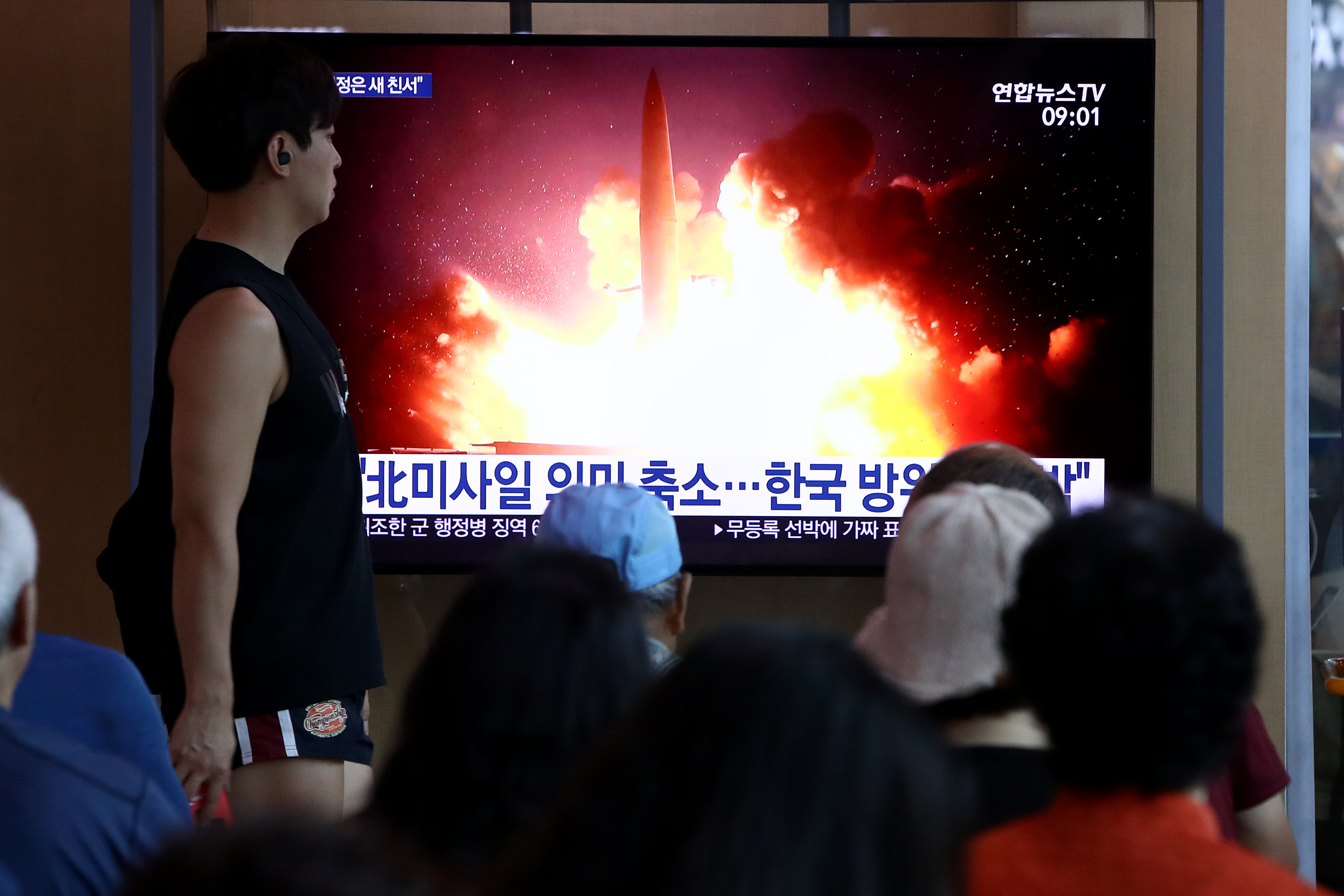 North Korea Fires Two Missiles Off Eastern Coast