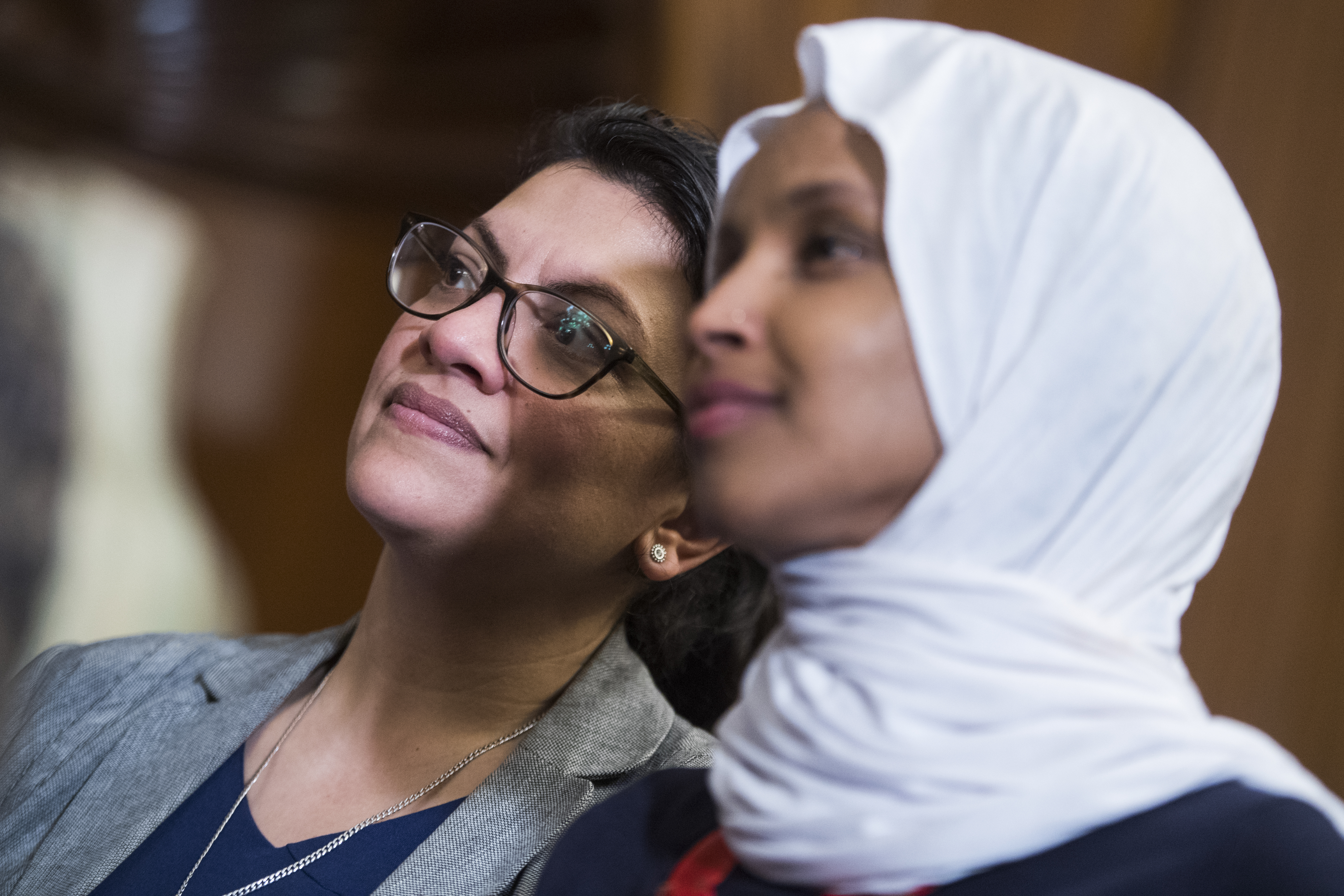 Reps. Ilhan Omar and Rashida Tlaib.