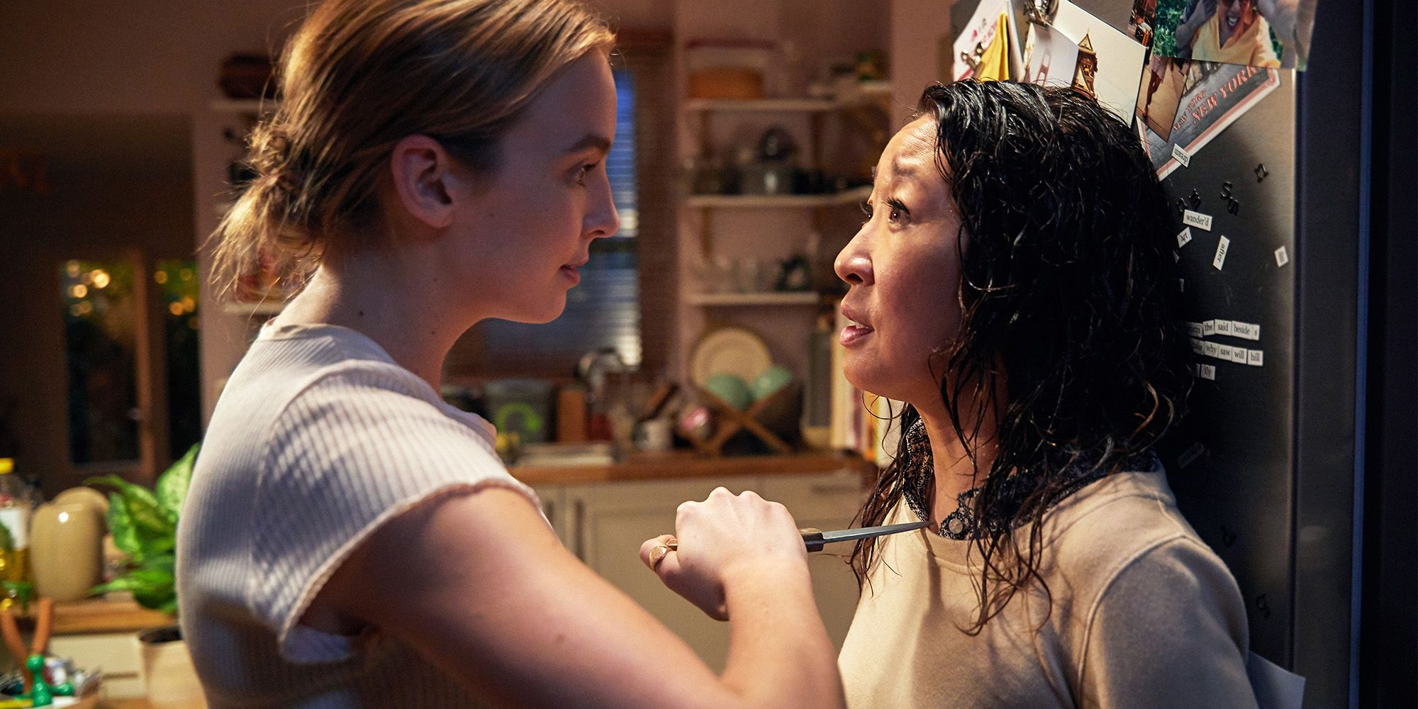 'Killing Eve' Films at Korean Barbecue in New Malden, Drops Least Surprising Spoiler Ever