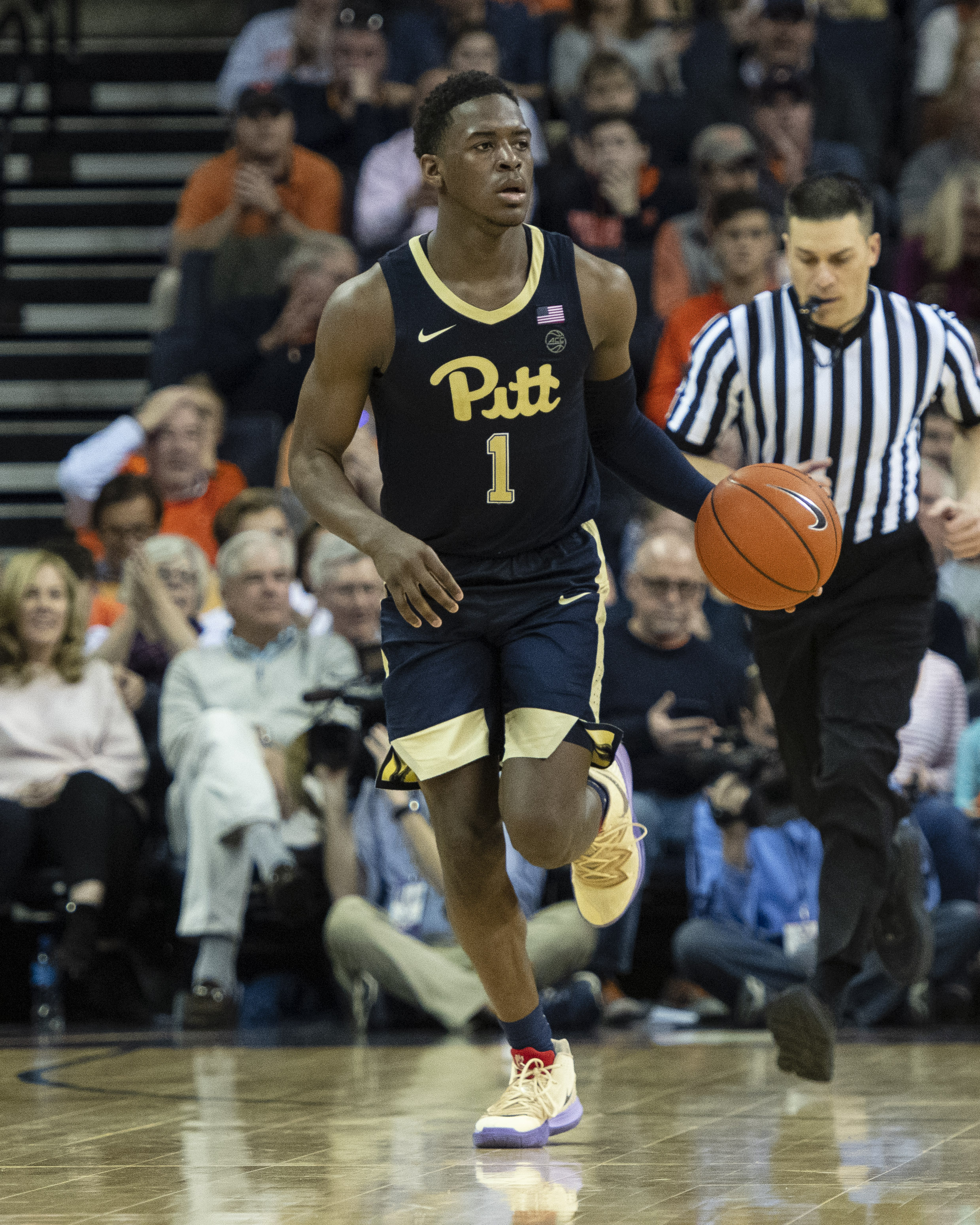 COLLEGE BASKETBALL: MAR 02 Pitt at Virginia