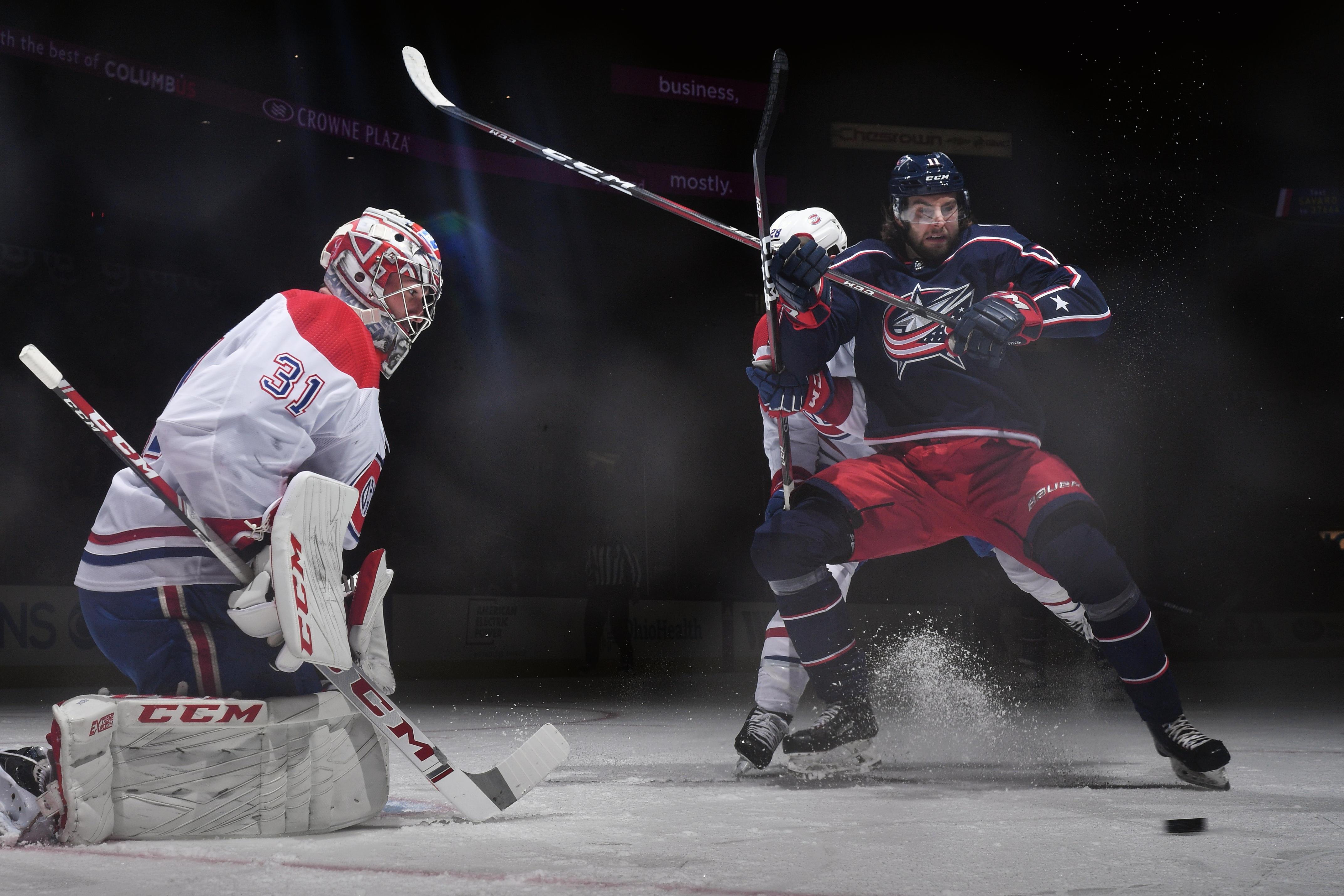 Montreal Canadiens v Columbus Blue Jackets
