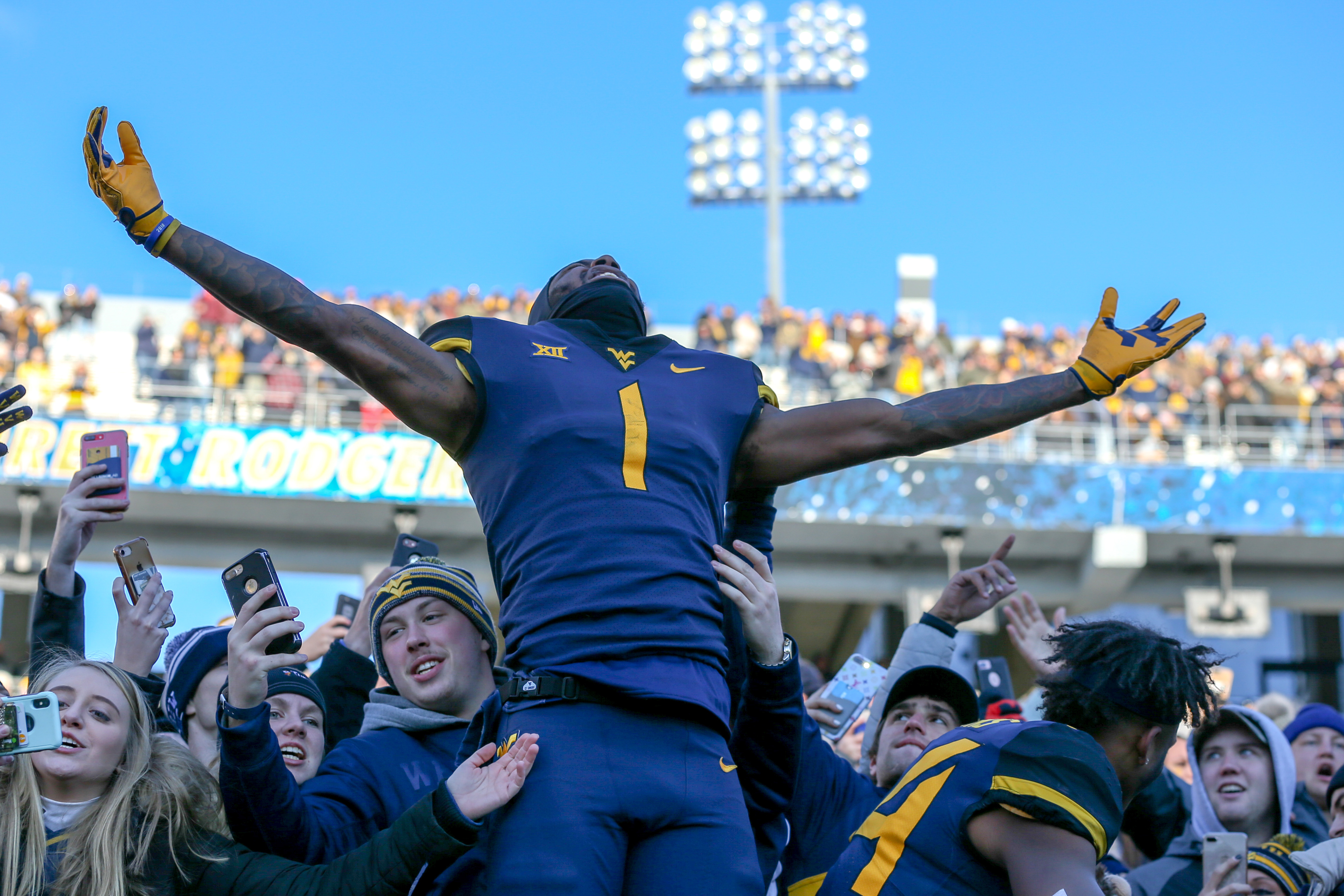 COLLEGE FOOTBALL: NOV 10 TCU at West Virginia