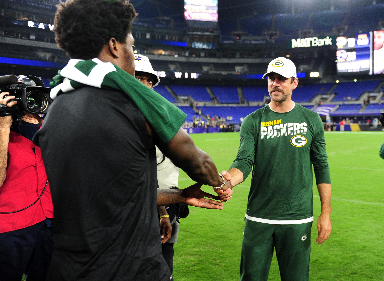 NFL: Preseason-Green Bay Packers at Baltimore Ravens