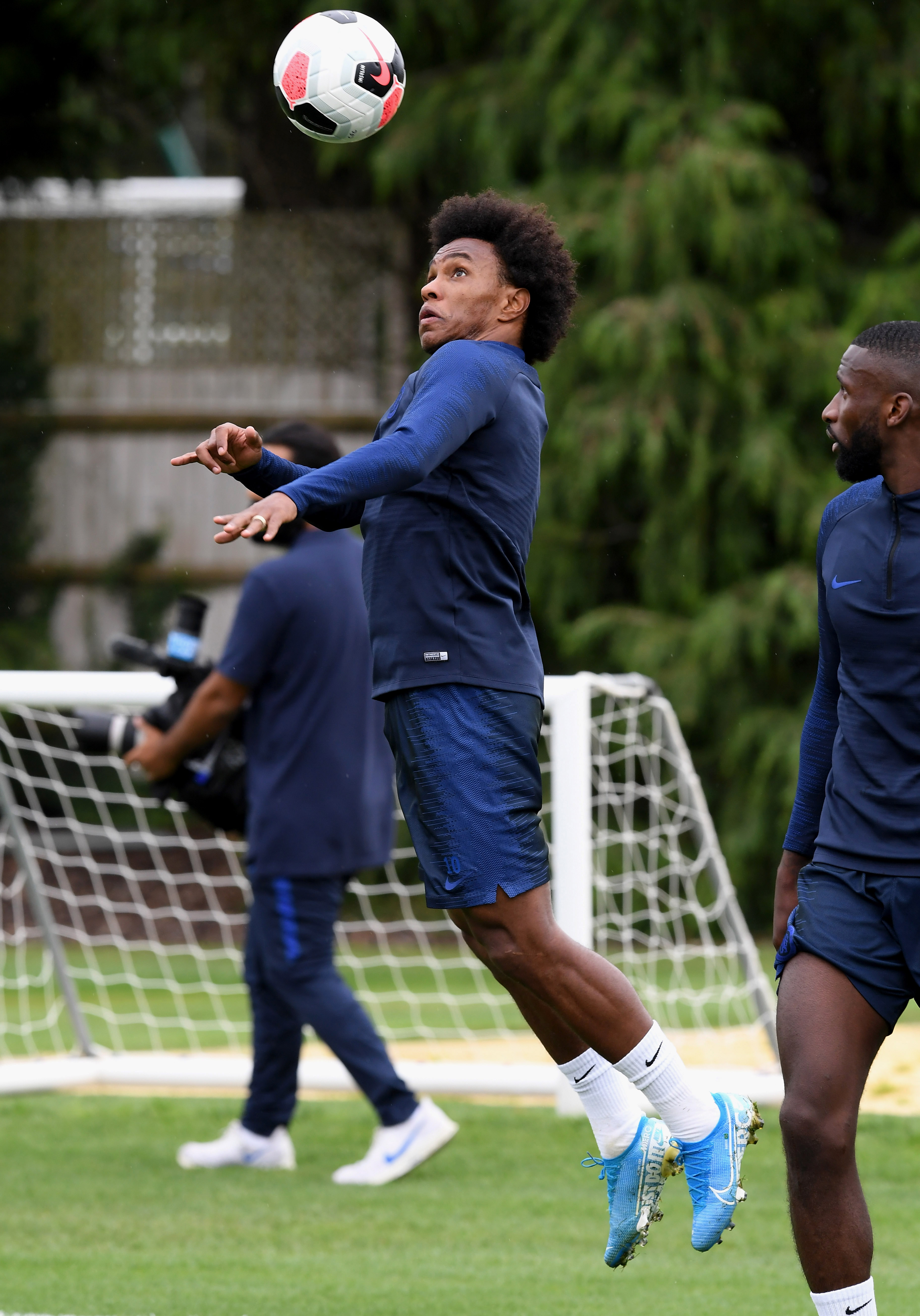 Rudiger, Willian in contention for Leicester; Hudson-Odoi, James expected after international break
