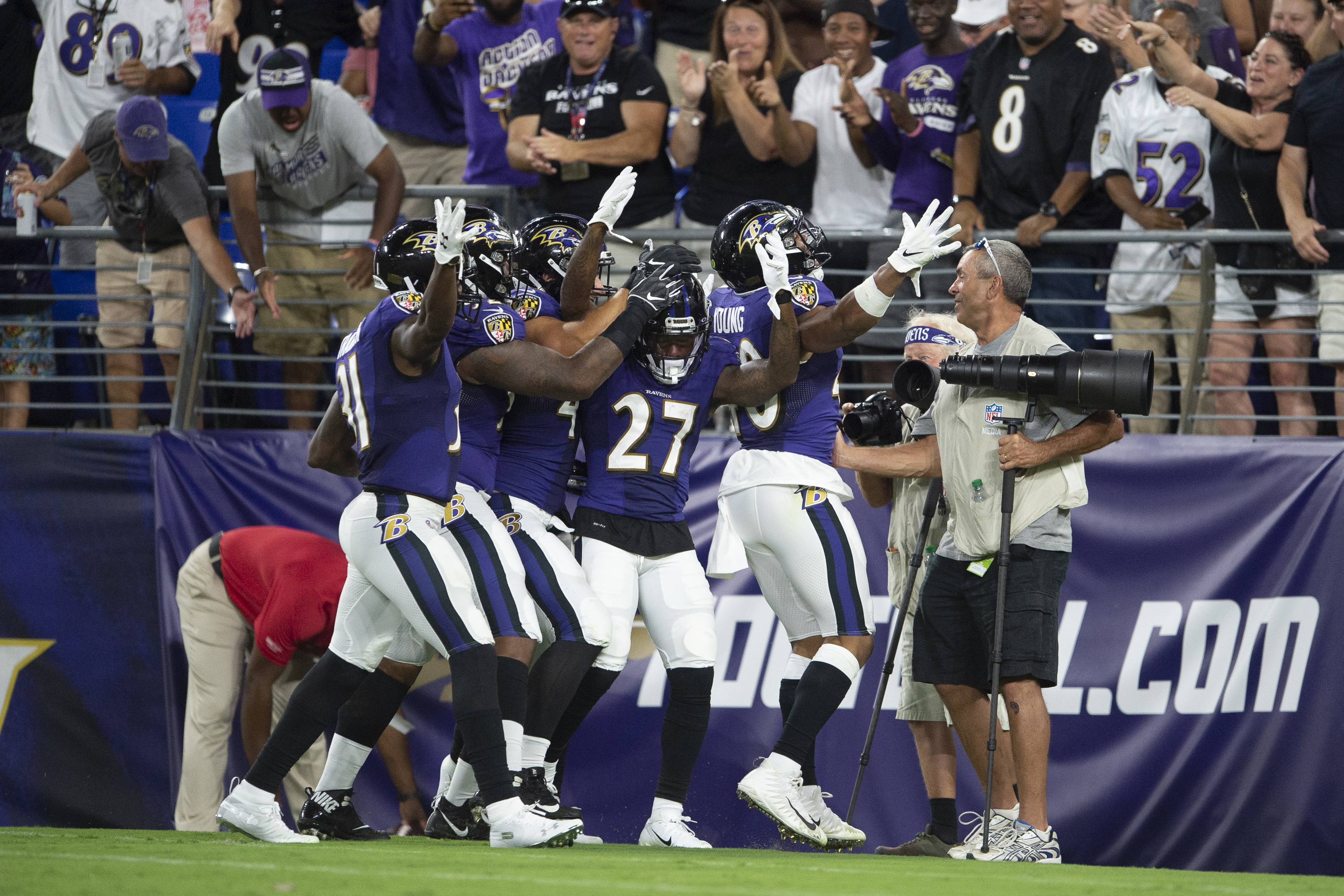 NFL: Preseason-Jacksonville Jaguars at Baltimore Ravens