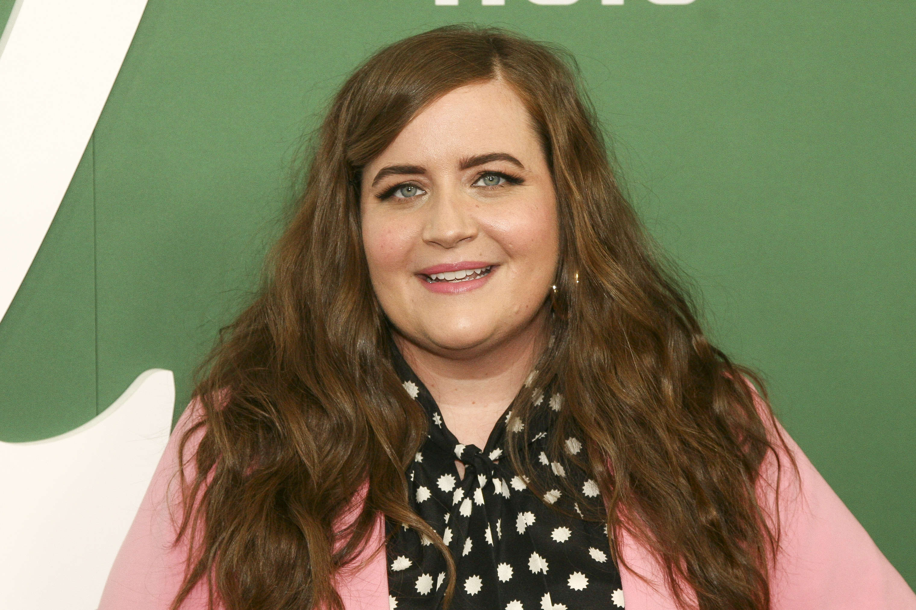 """Aidy Bryant attends the premiere of Hulu's """"Shrill"""" at the Walter Reade Theater in New York earlier this year."""