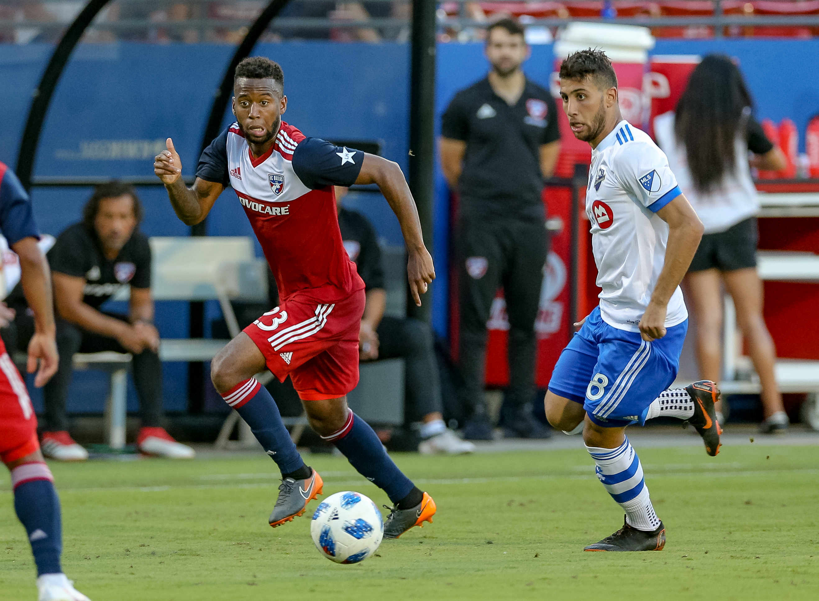 SOCCER: JUN 09 MLS - Montreal Impact at FC Dallas