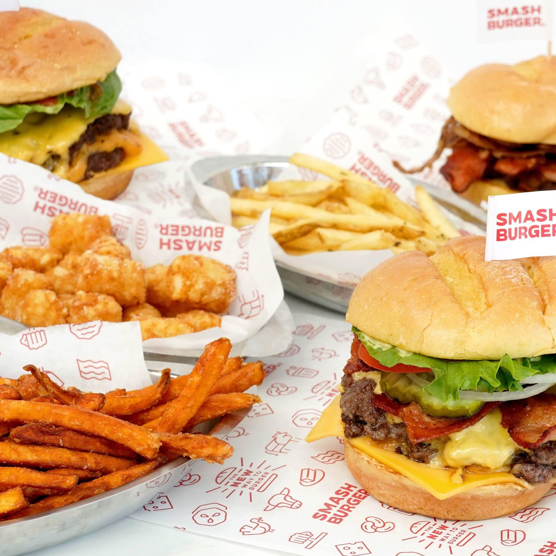 Get a 12 cent Smashburger today