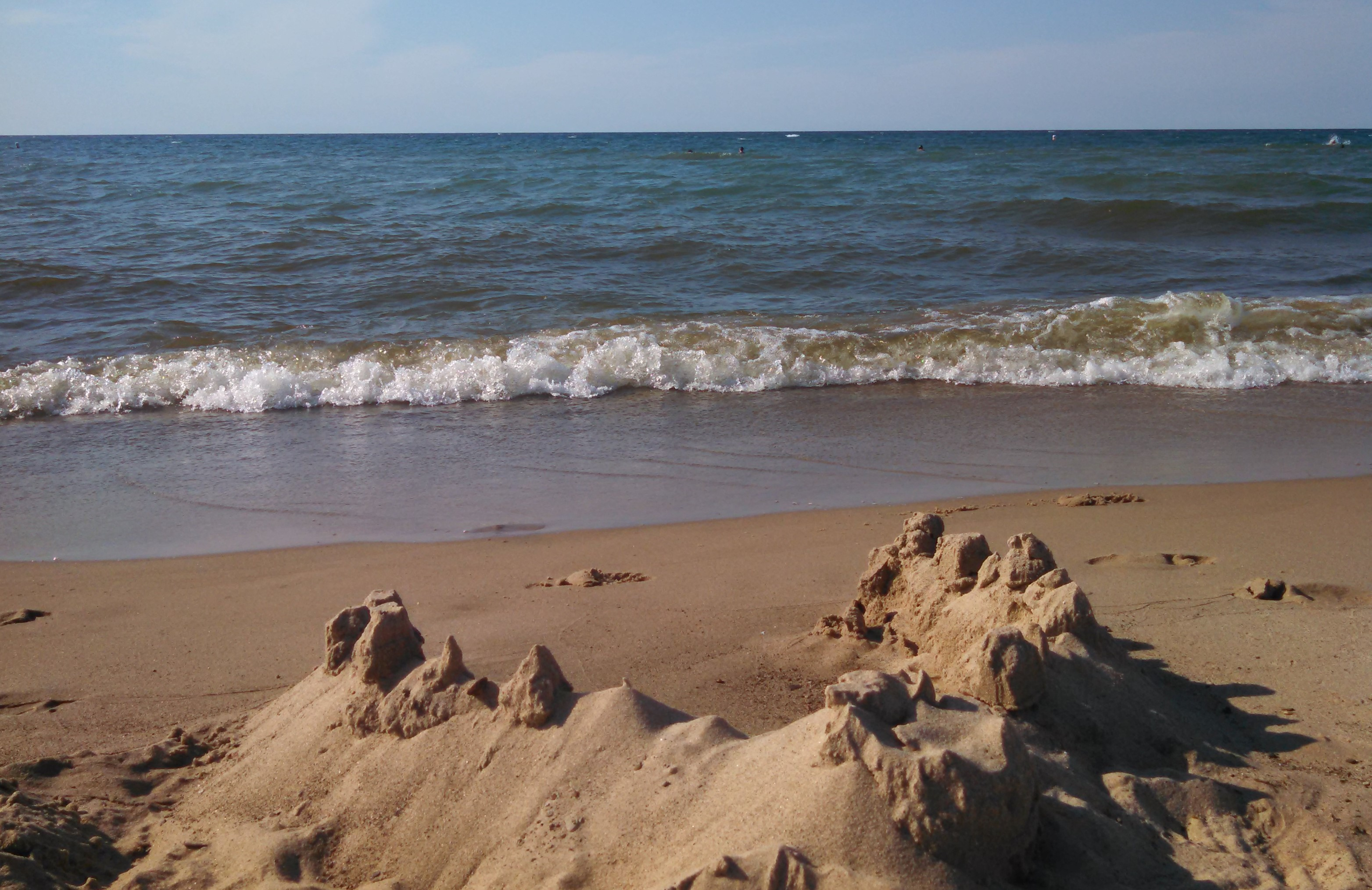 Parts of Indiana Dunes were shut down Aug. 15, 2019 for a chemical spill in the water.