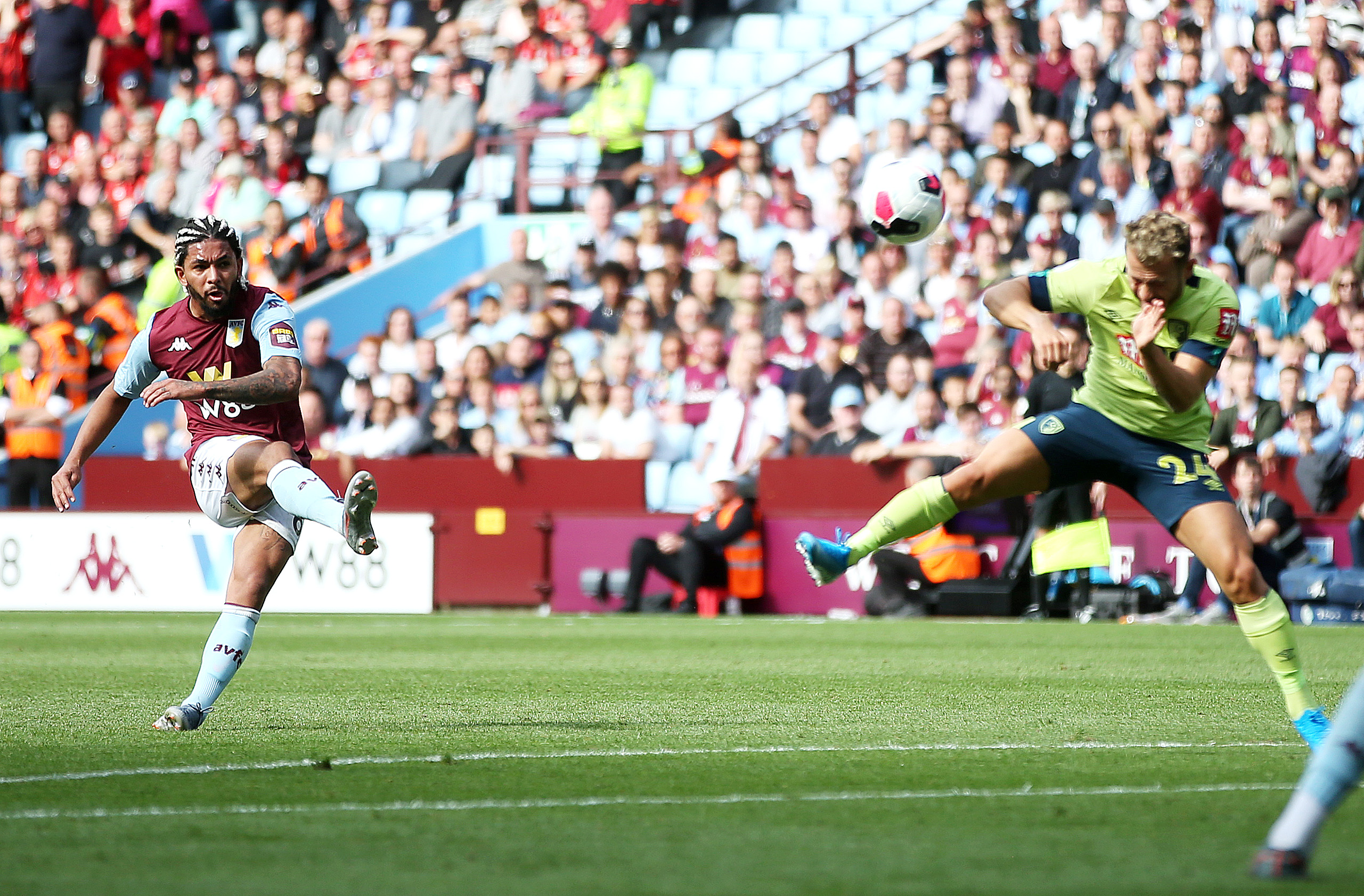 Aston Villa vs Bournemouth: 1-2 Recap