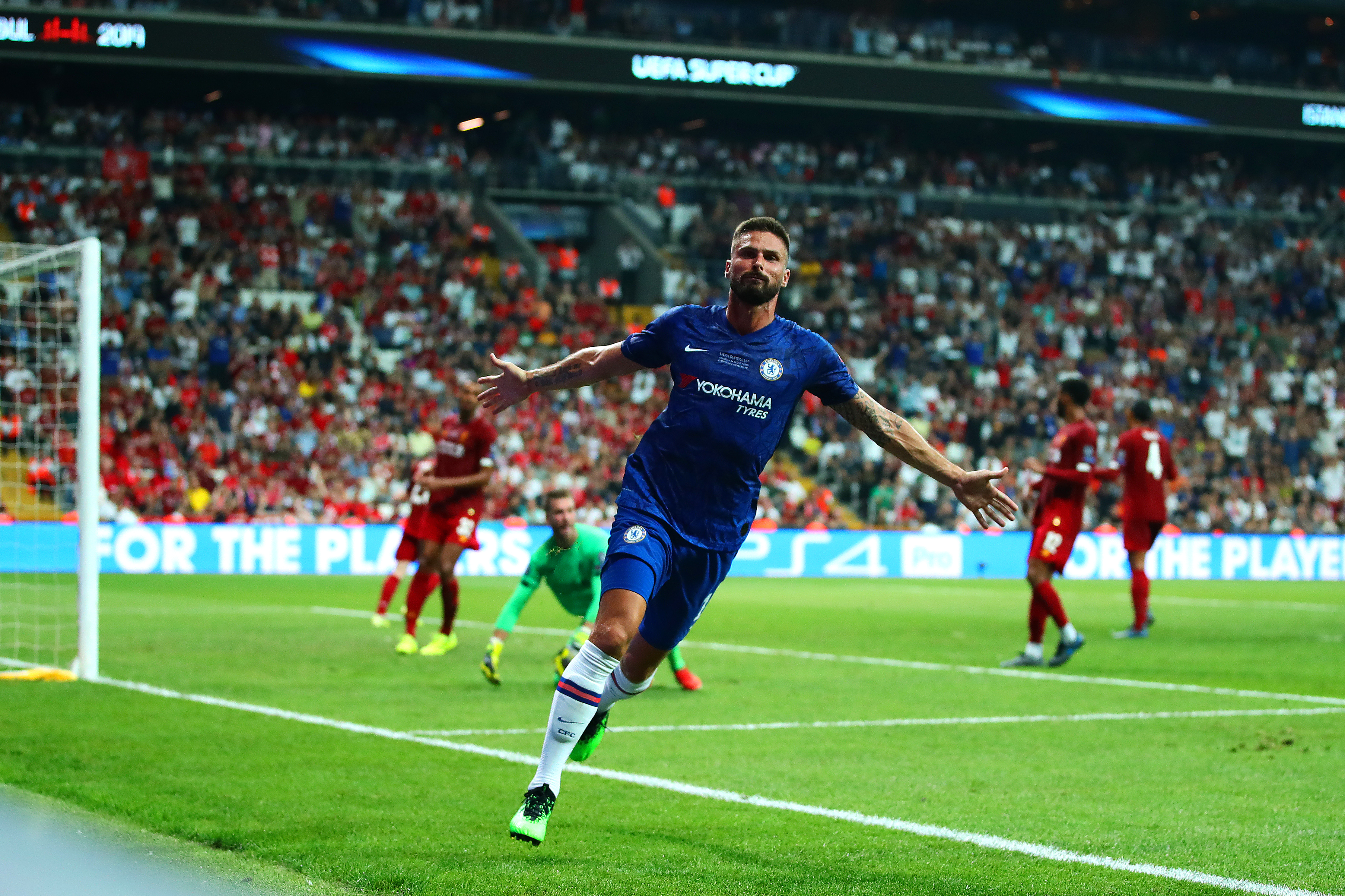 Giroud on Lampard's positivity, Chelsea's quality, and challenging for trophies