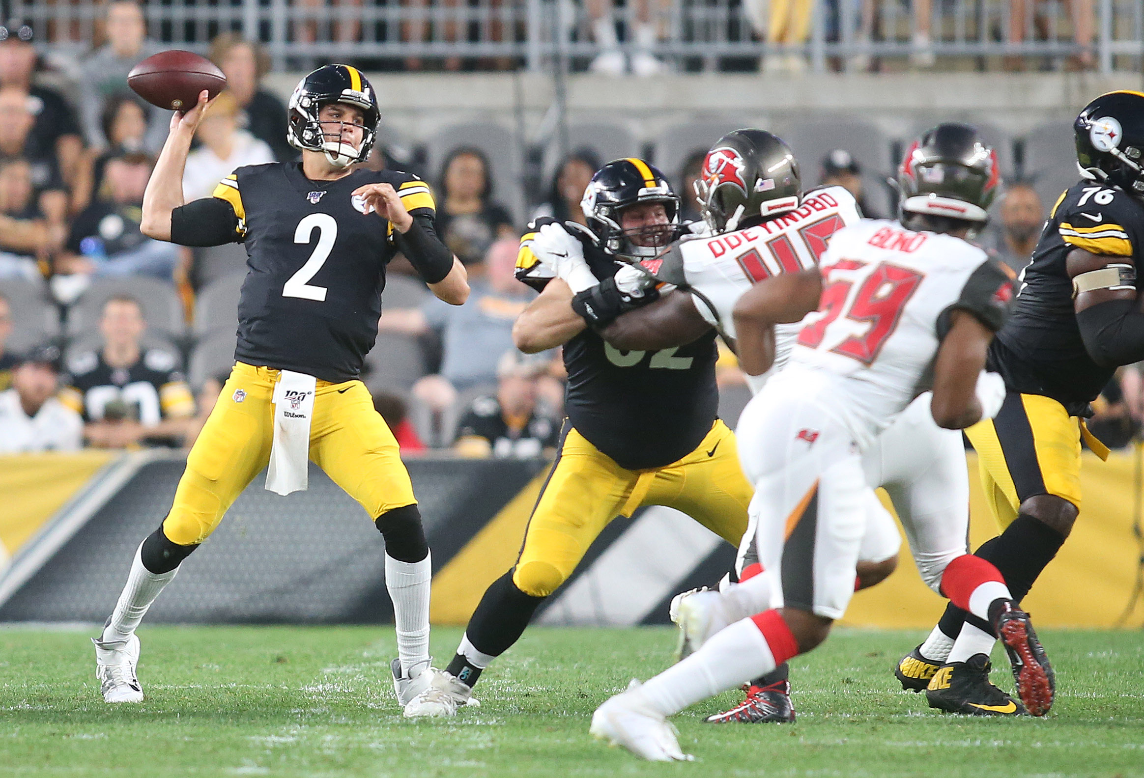 NFL: Preseason-Tampa Bay Buccaneers at Pittsburgh Steelers