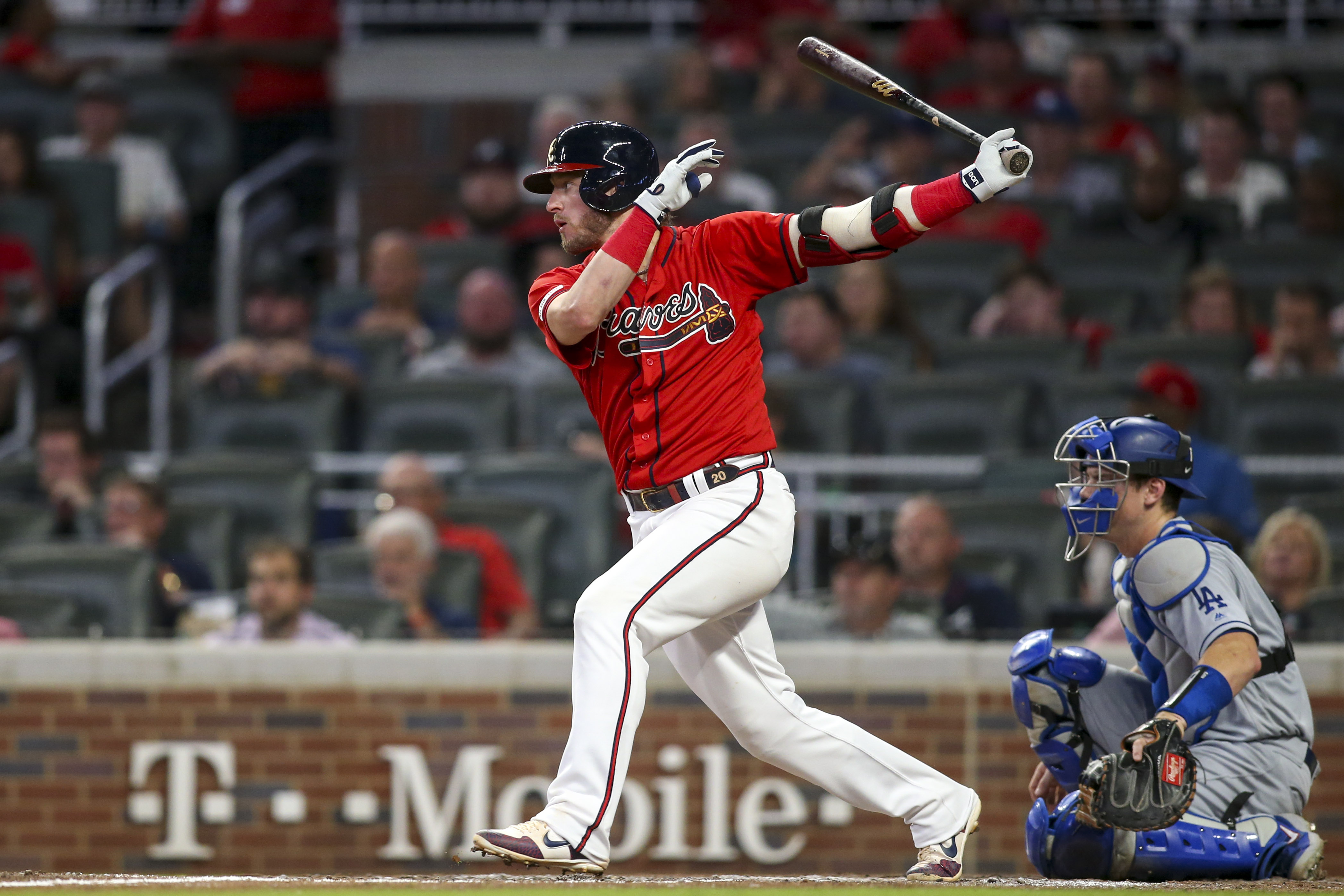 MLB: Los Angeles Dodgers at Atlanta Braves