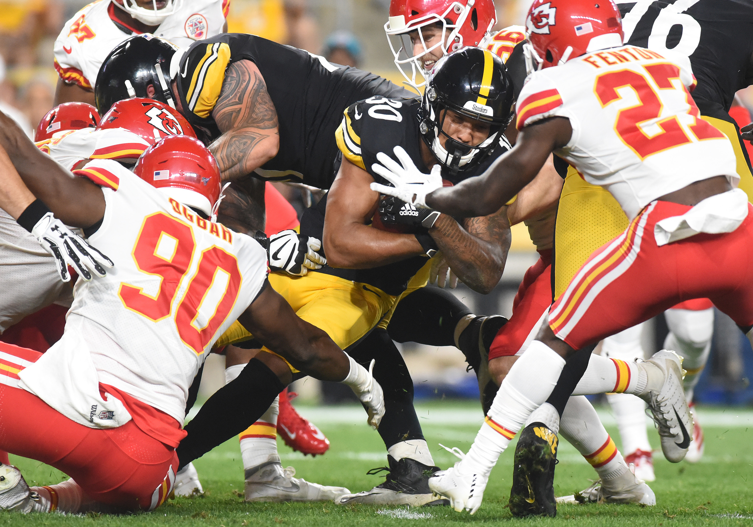 NFL: Preseason-Kansas City Chiefs at Pittsburgh Steelers