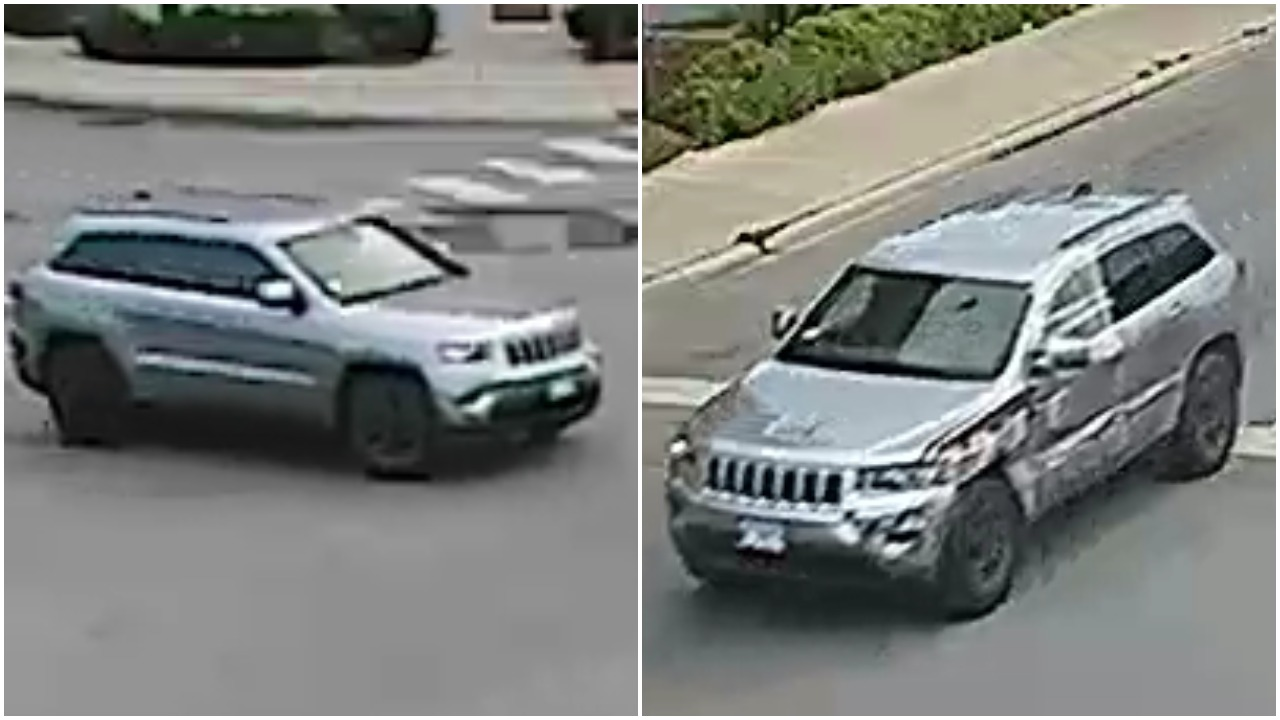 Jeep wanted for a hit-and-run crash