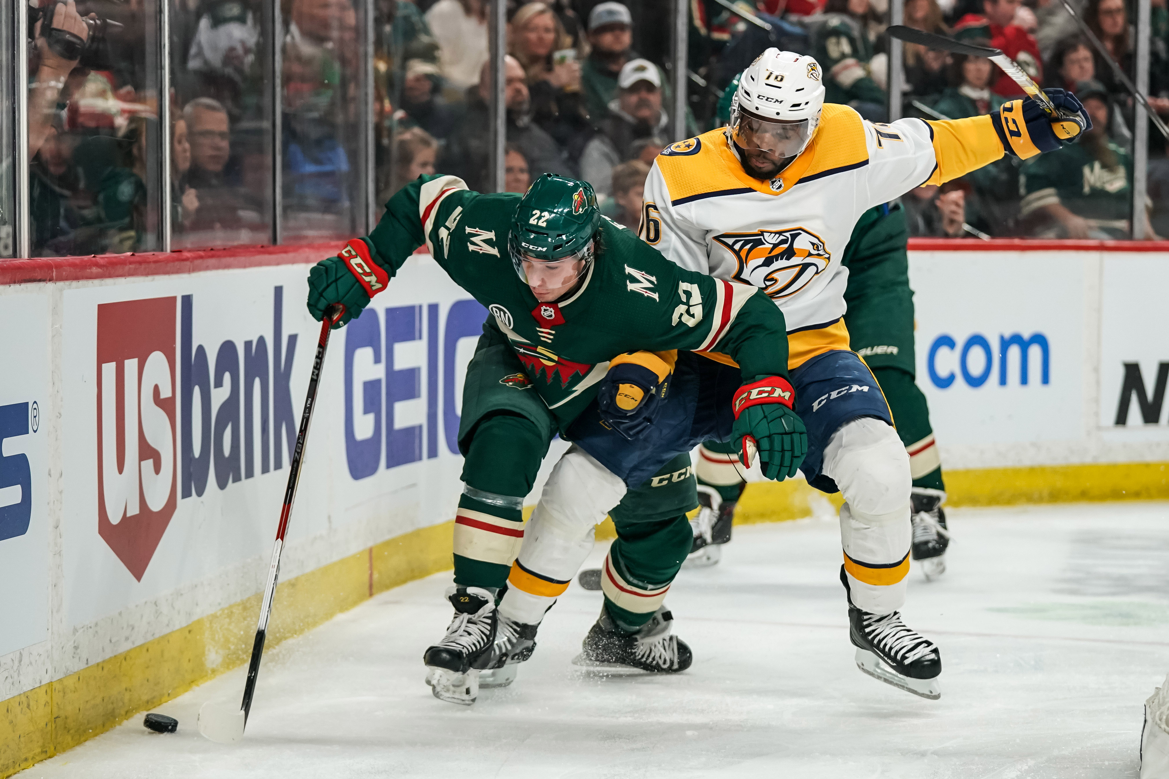 NHL: Nashville Predators at Minnesota Wild