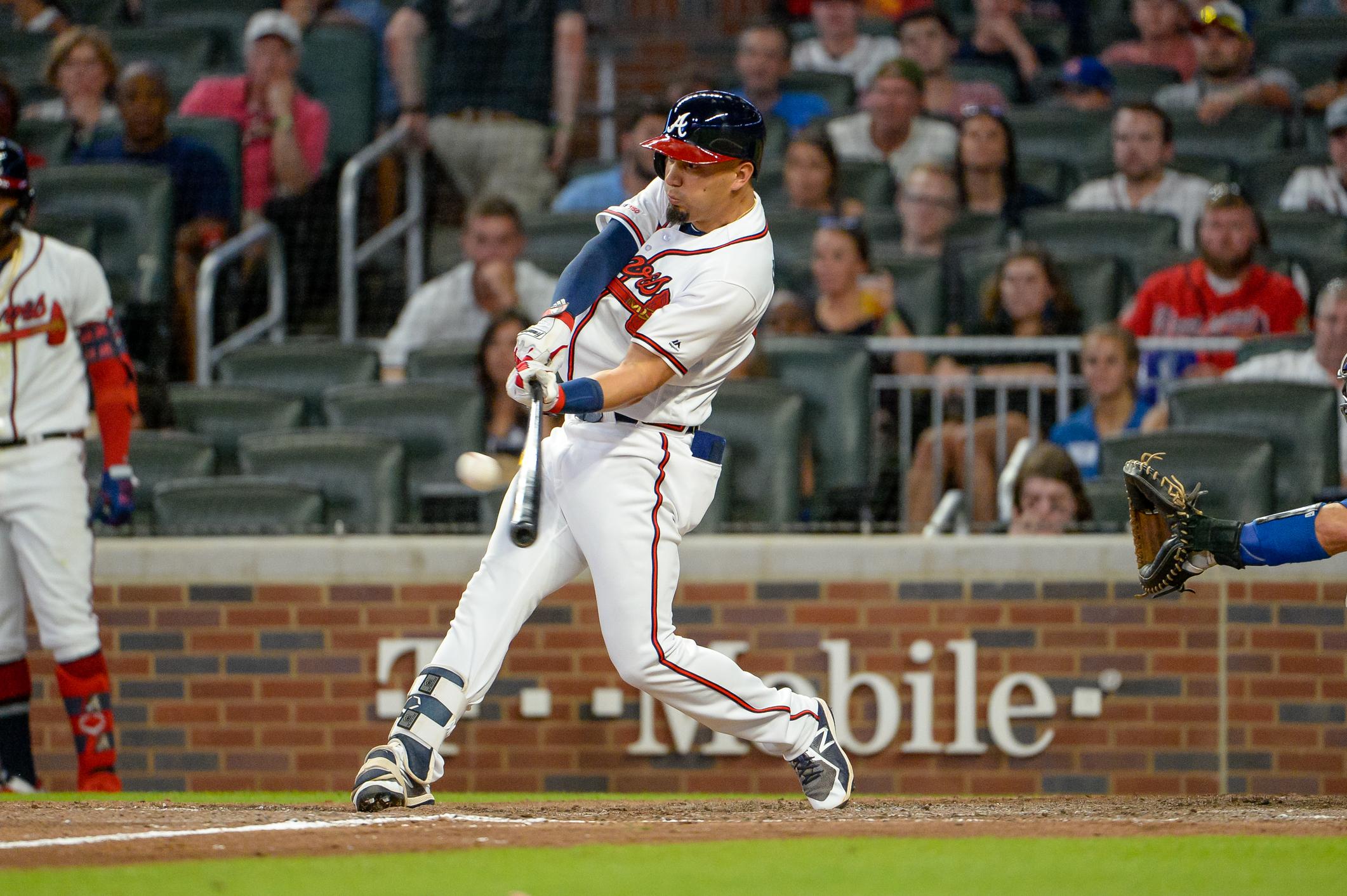 MLB: AUG 17 Dodgers at Braves