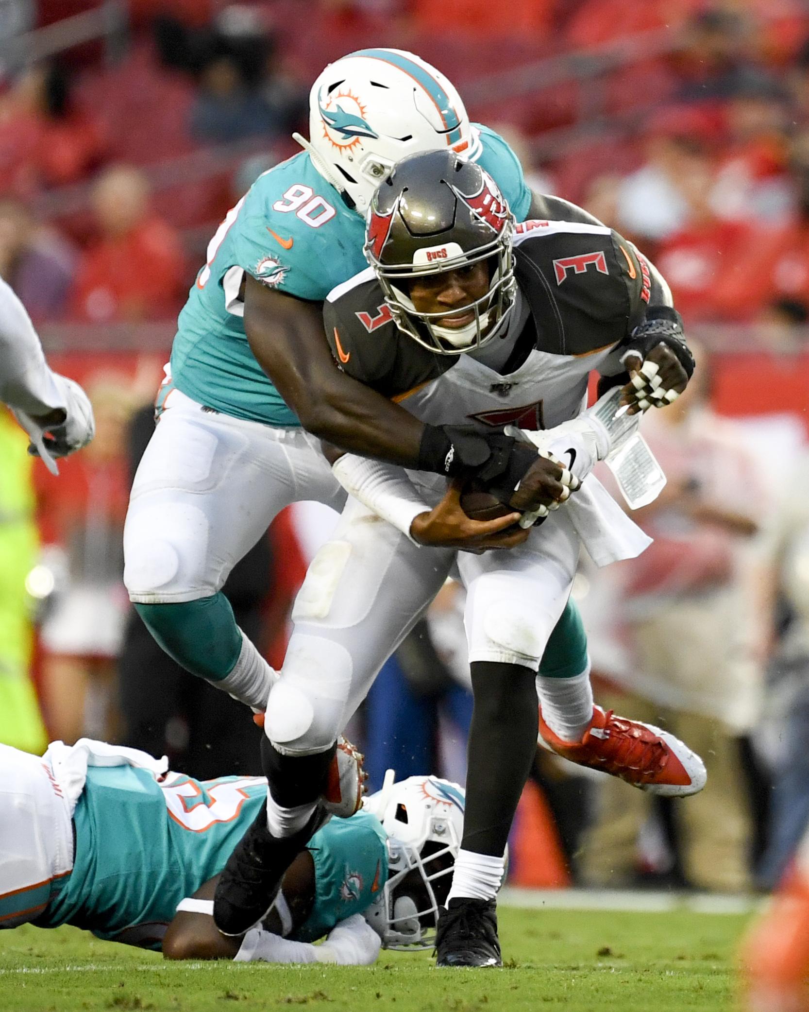NFL: Preseason-Miami Dolphins at Tampa Bay Buccaneers